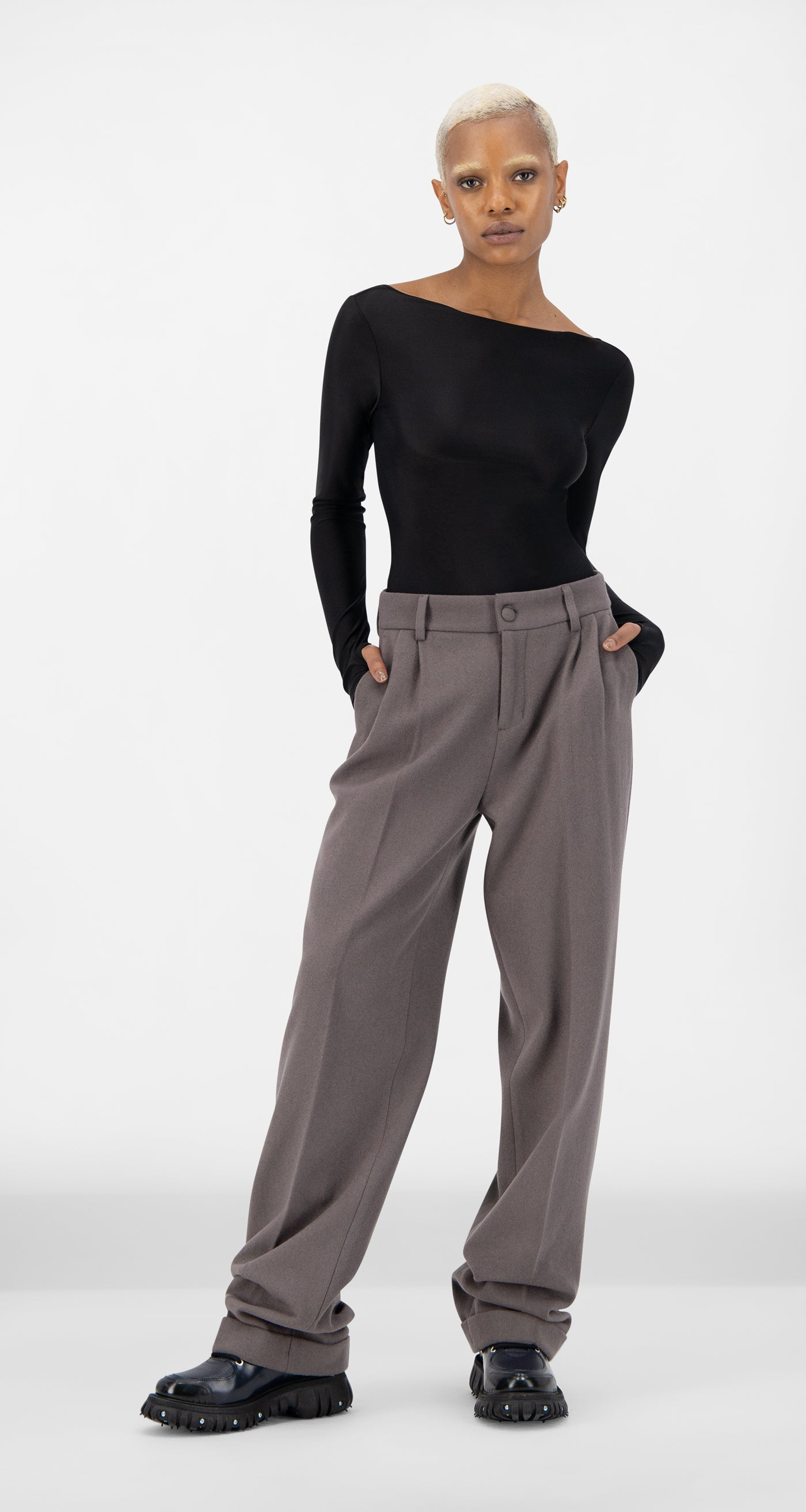 Daily Paper - Grey Esuit Pants - Women