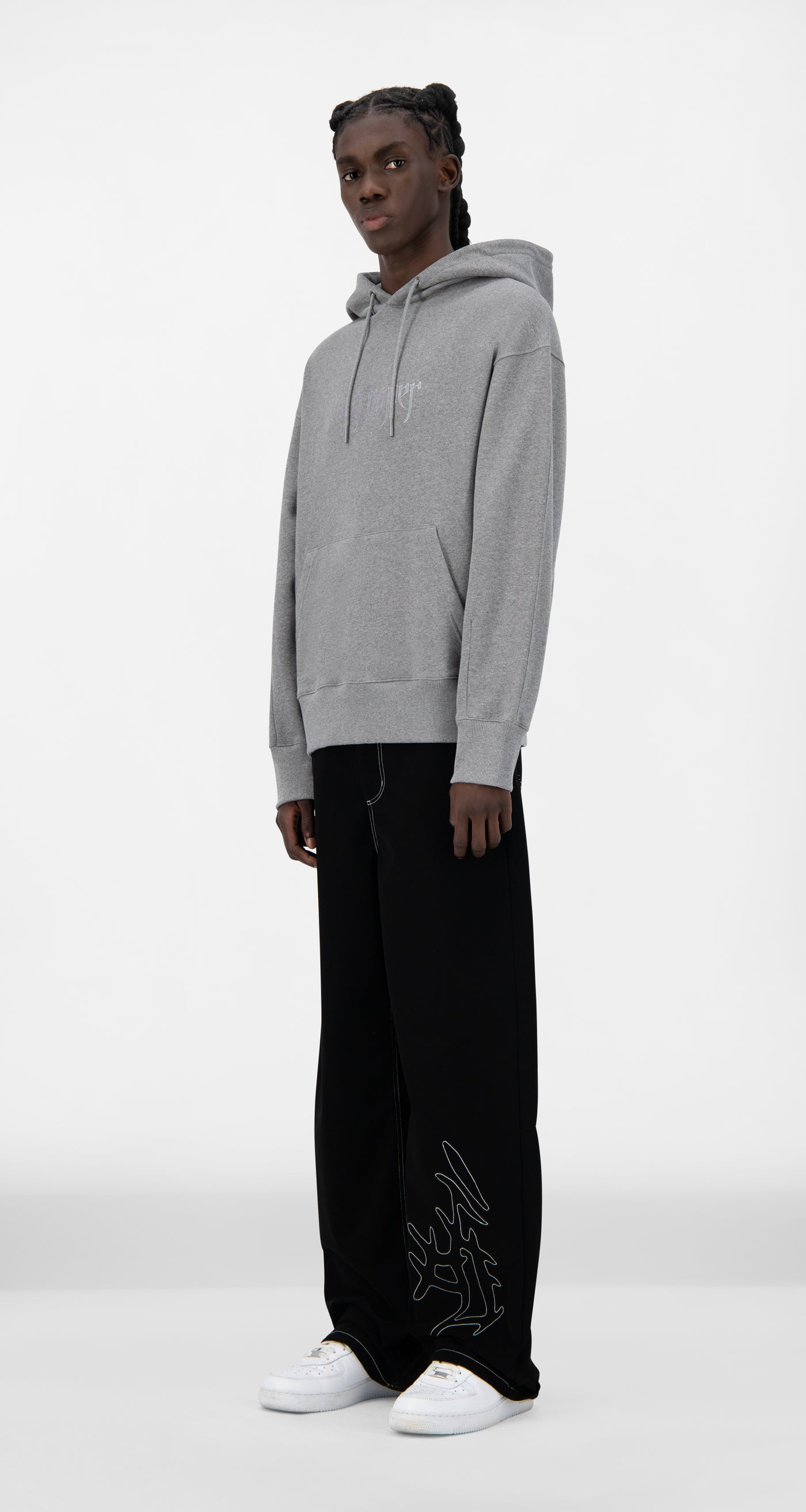 Daily Paper - Grey Jalmel Hoody - Men