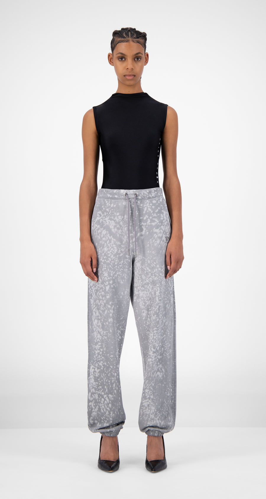 Daily Paper - Grey Violet Jacidspla Pants - Women Front
