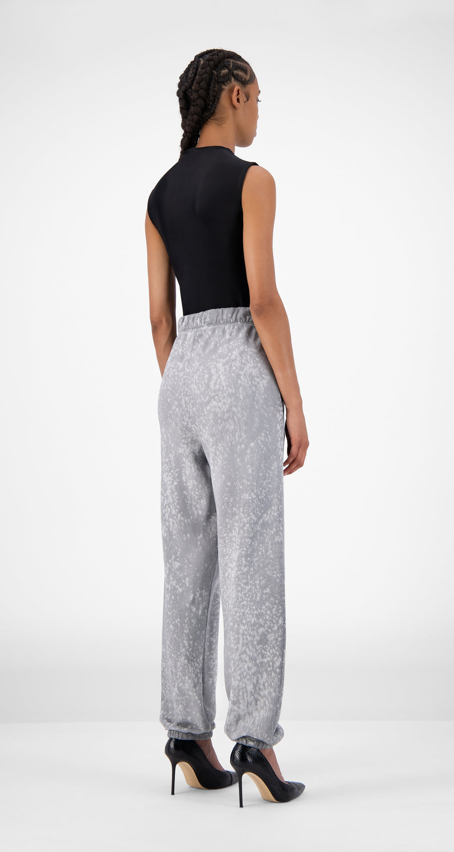 Daily Paper - Grey Violet Jacidspla Pants - Women Rear