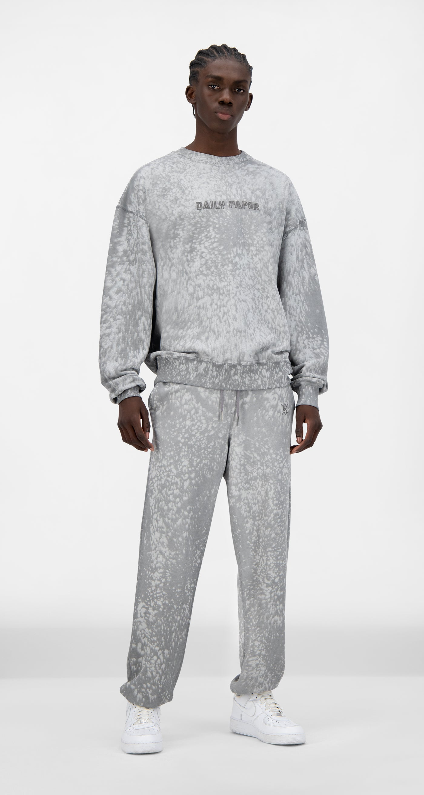 Daily Paper - Grey Violet Jerspla Sweater - Men