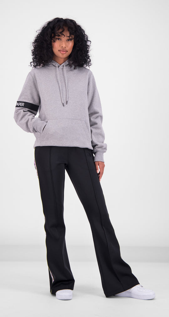 Daily Paper - Light Grey Captain Hoody Women Front
