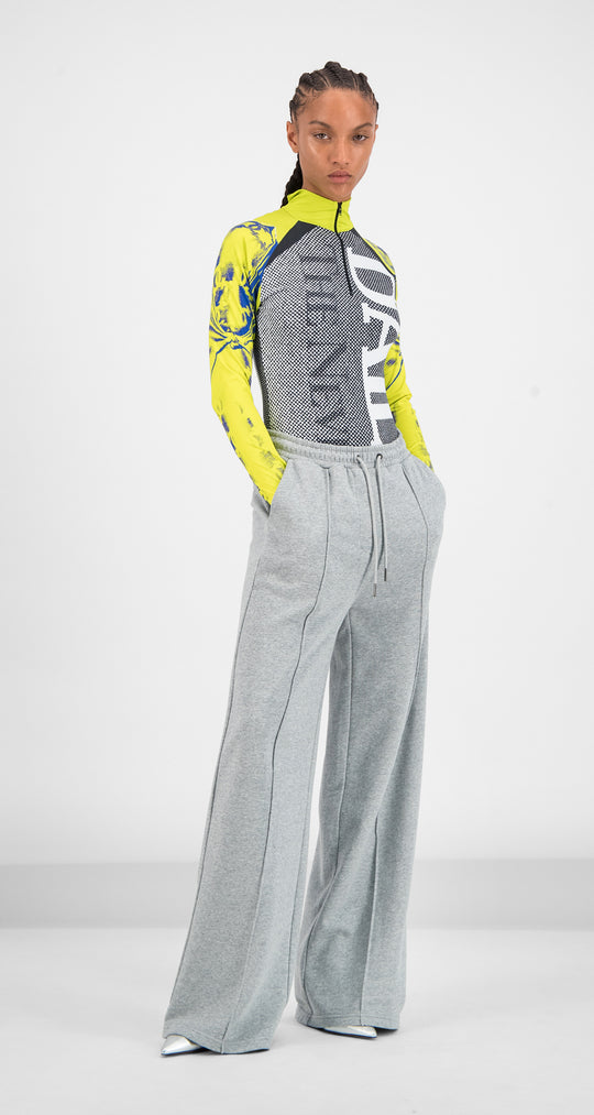 Daily Paper - Grey Gifa Pants Women Front