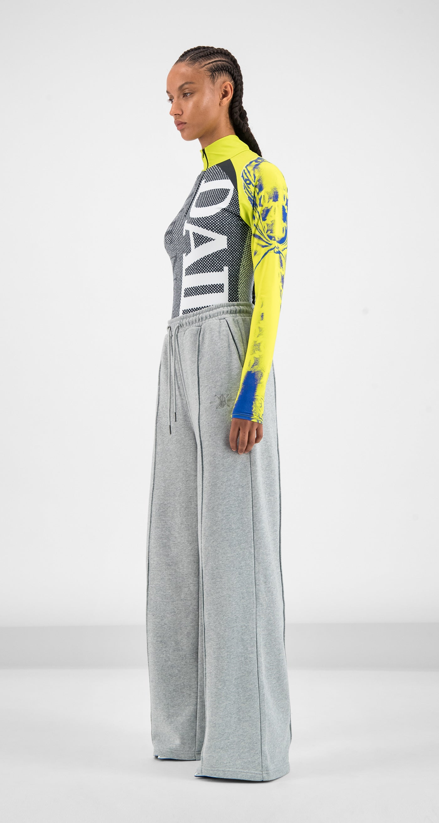 Daily Paper - Grey Gifa Pants Women
