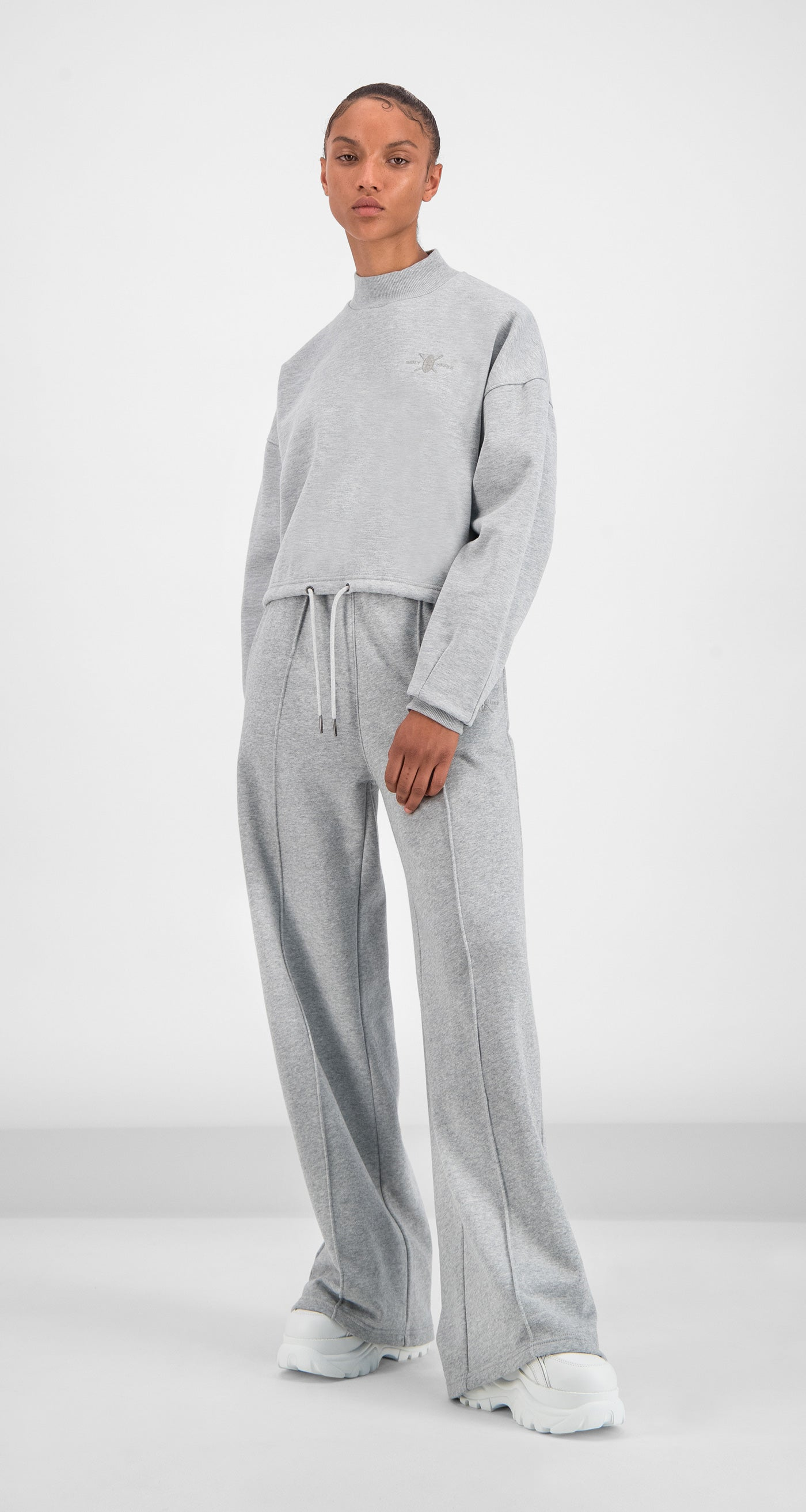 Daily Paper - Grey Gleogru Sweater Women