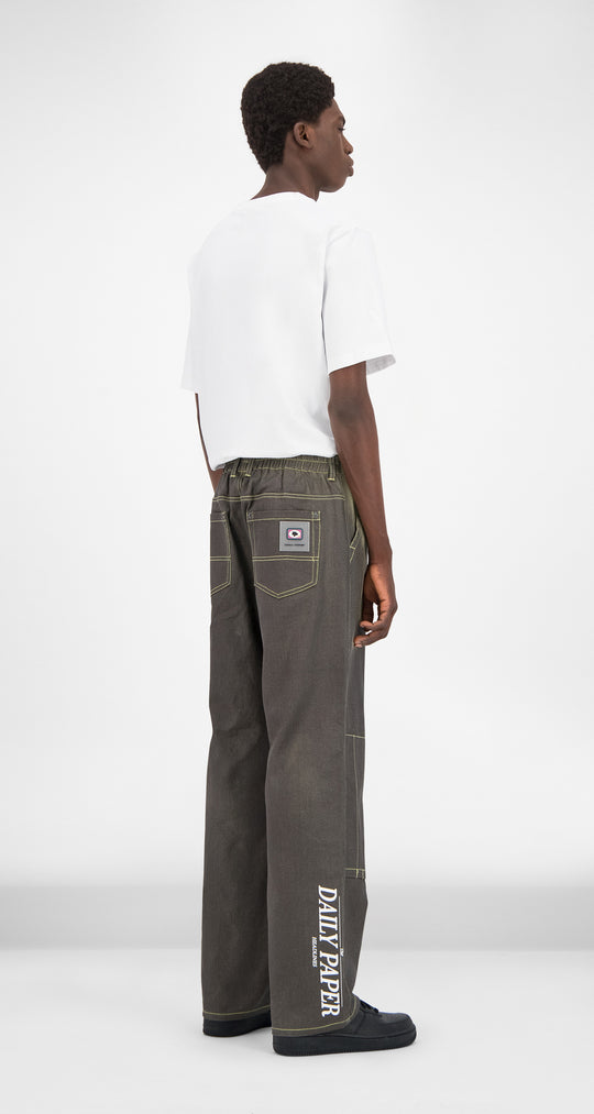 Daily Paper - Grey Heat Sensitive Gefoc Pants Men Rear