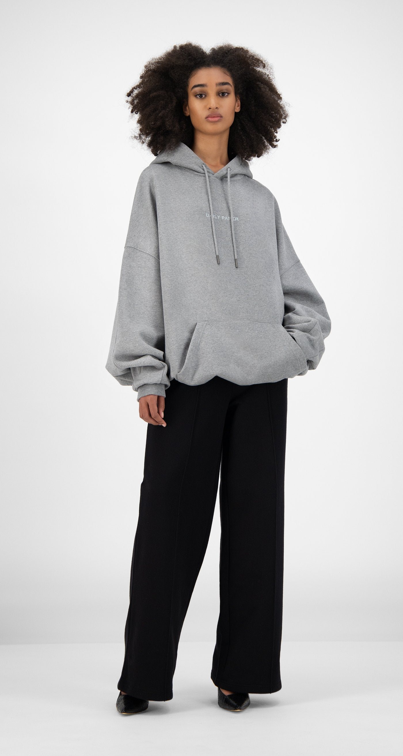 Daily Paper - Grey Horhine Hoody - Women