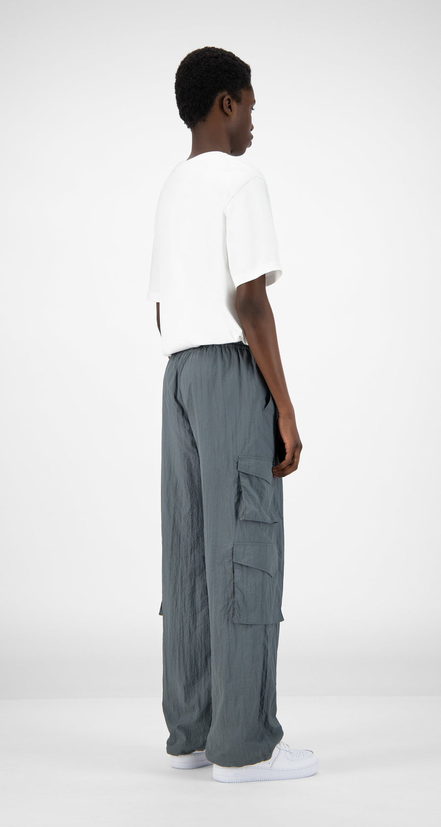 Daily Paper - Grey Hosine Pants - Men Rear