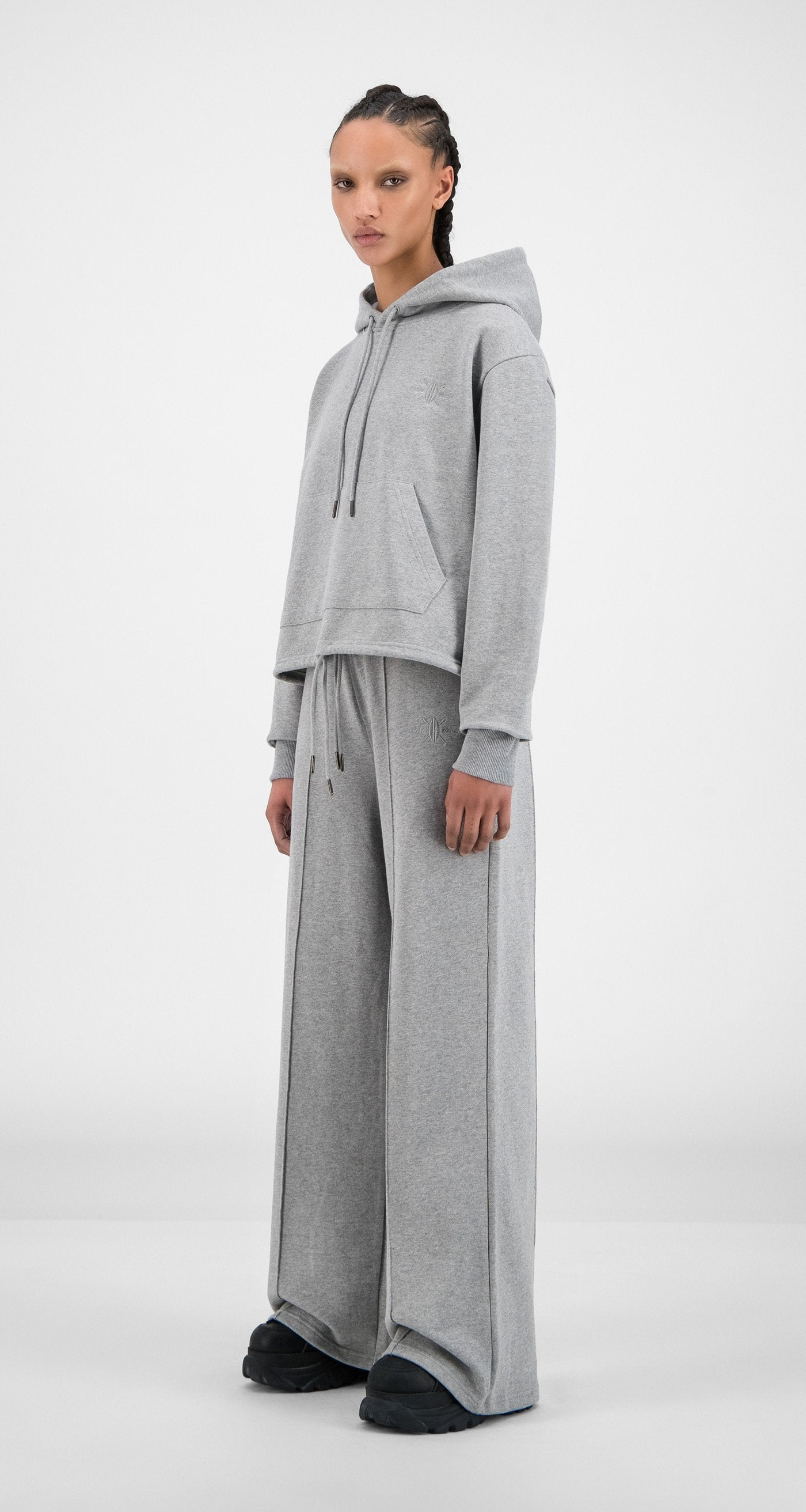 Daily Paper - Grey Howa Hoody - Women
