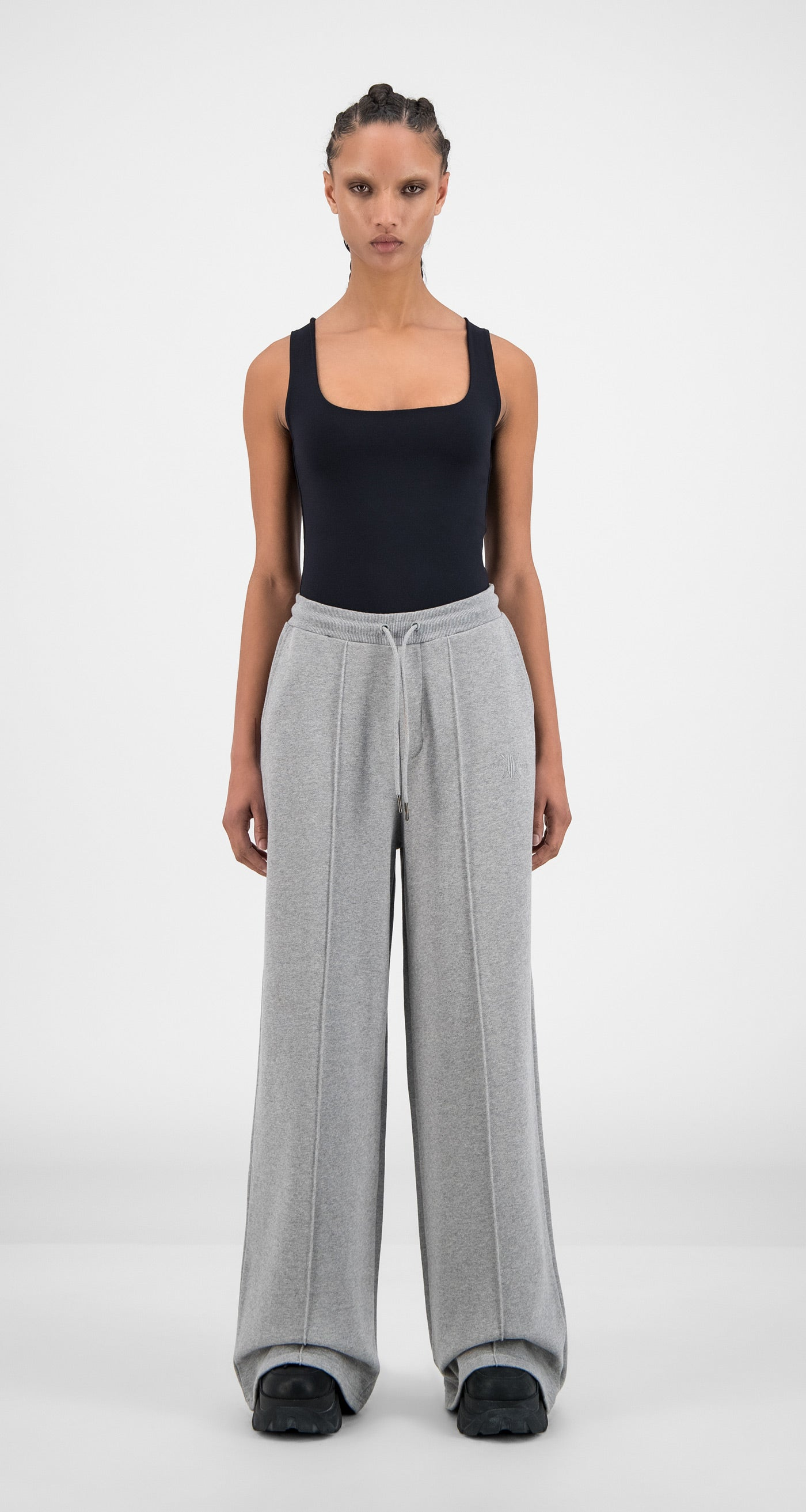 Daily Paper - Grey Hifa Pants - Women Front