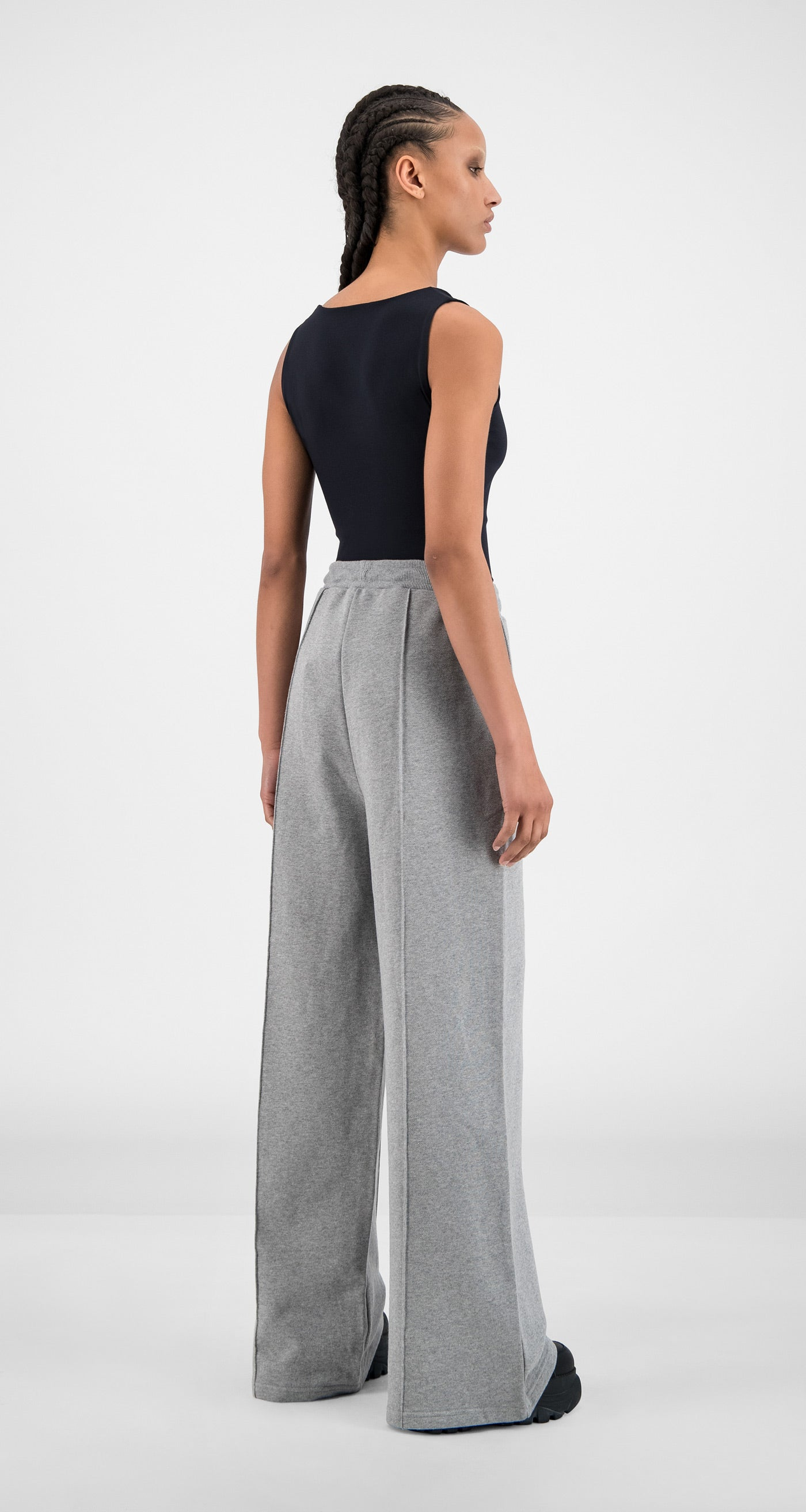 Daily Paper - Grey Hifa Pants - Women Rear