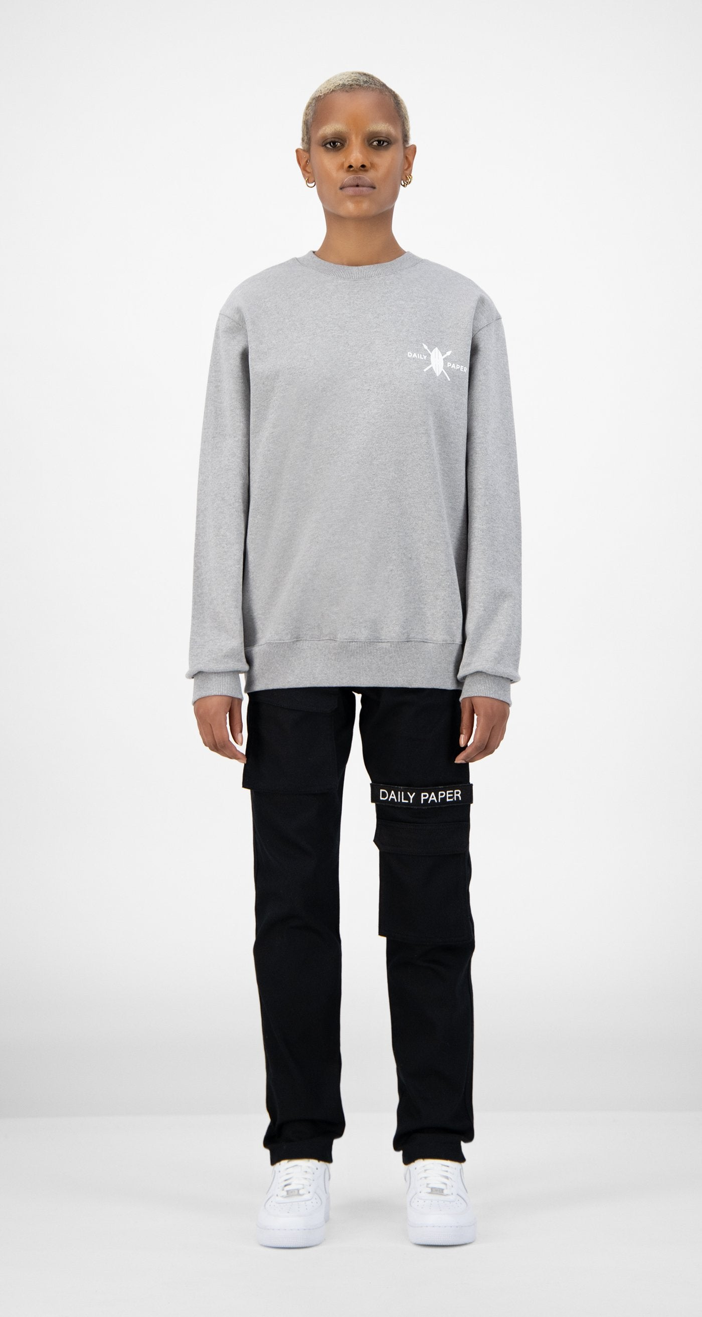 Daily Paper - Grey NYC Store Sweater - Women Front