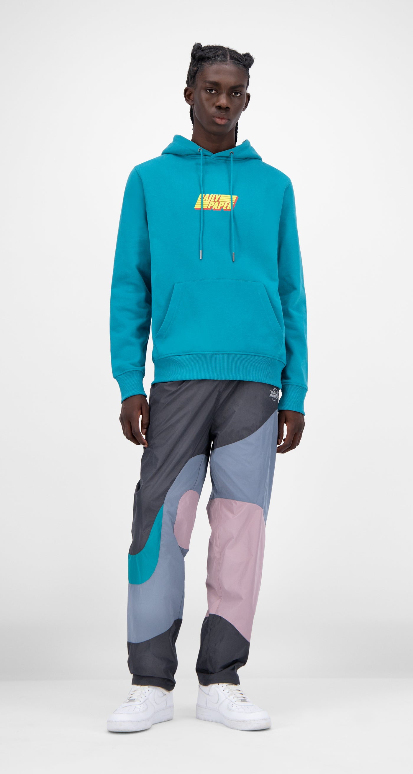Daily Paper - Harbor Blue Jahar Hoody - Men