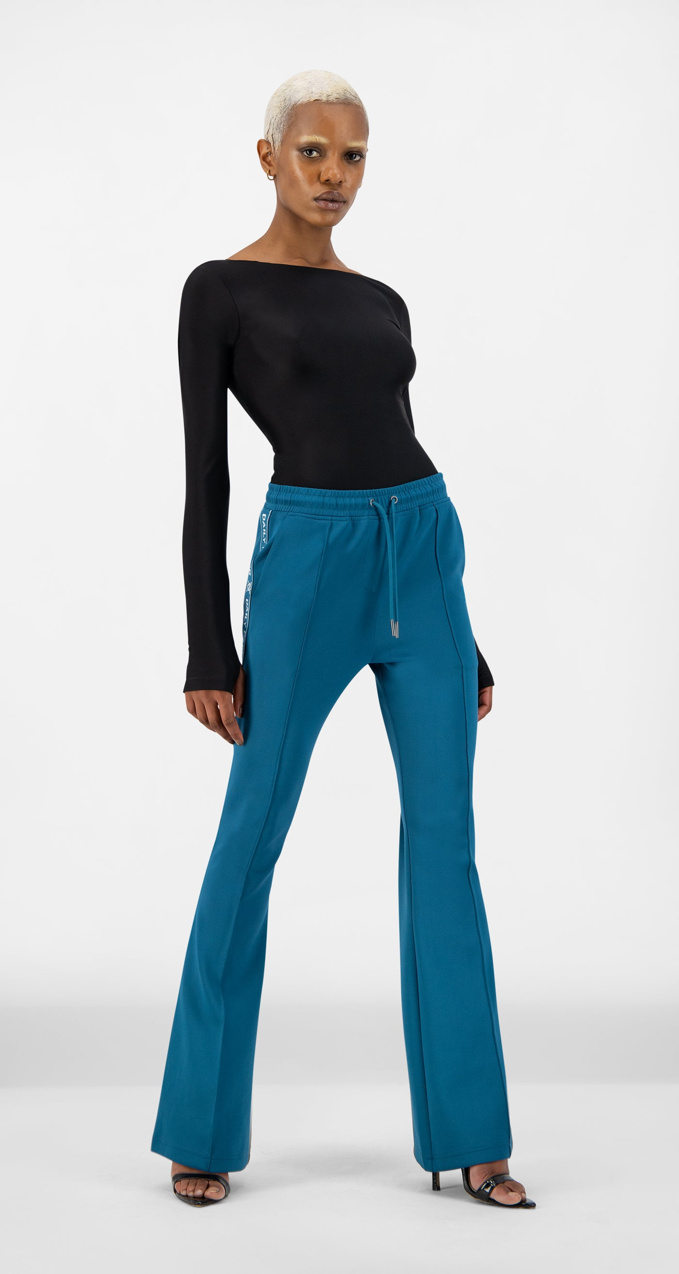 Daily Paper - Ink Blue Etape Flare Pants - Women