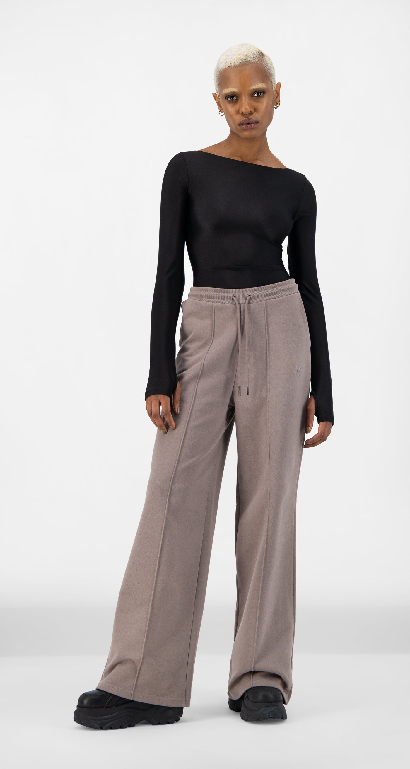 Daily Paper - Iron Brown Shield Hifa Pants - Women
