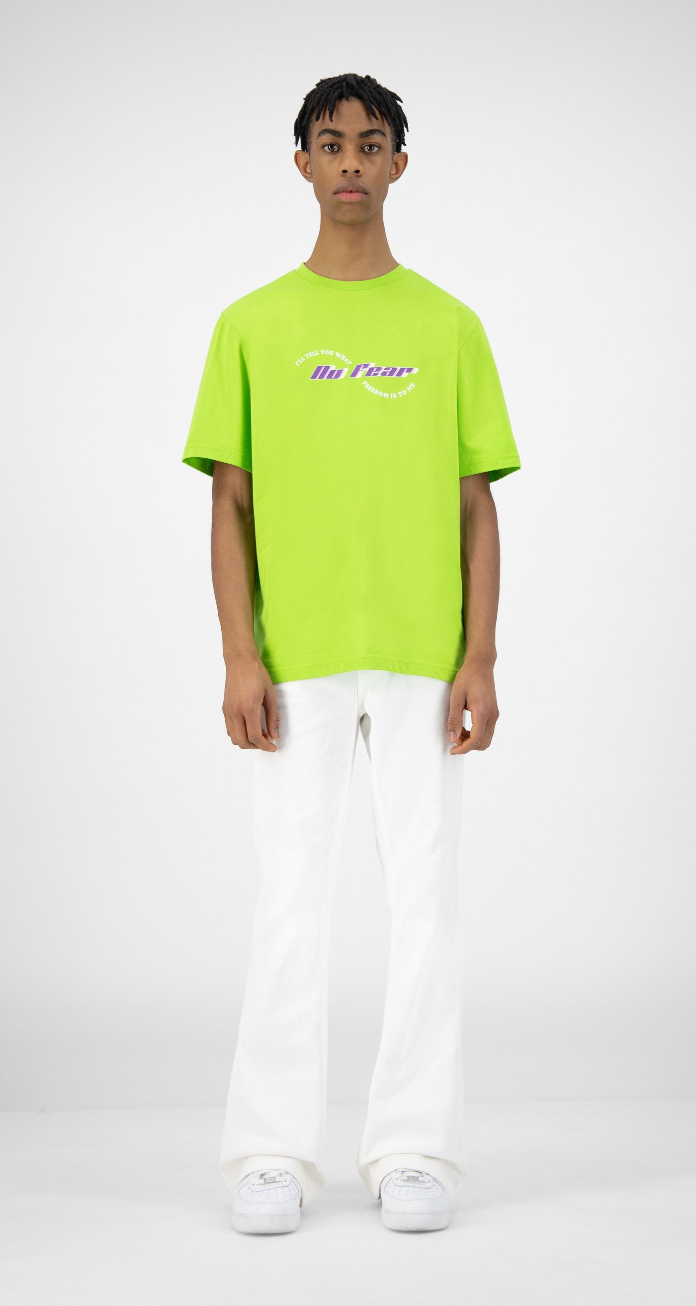 Daily Paper - Green Korjas T-Shirt - Men Front