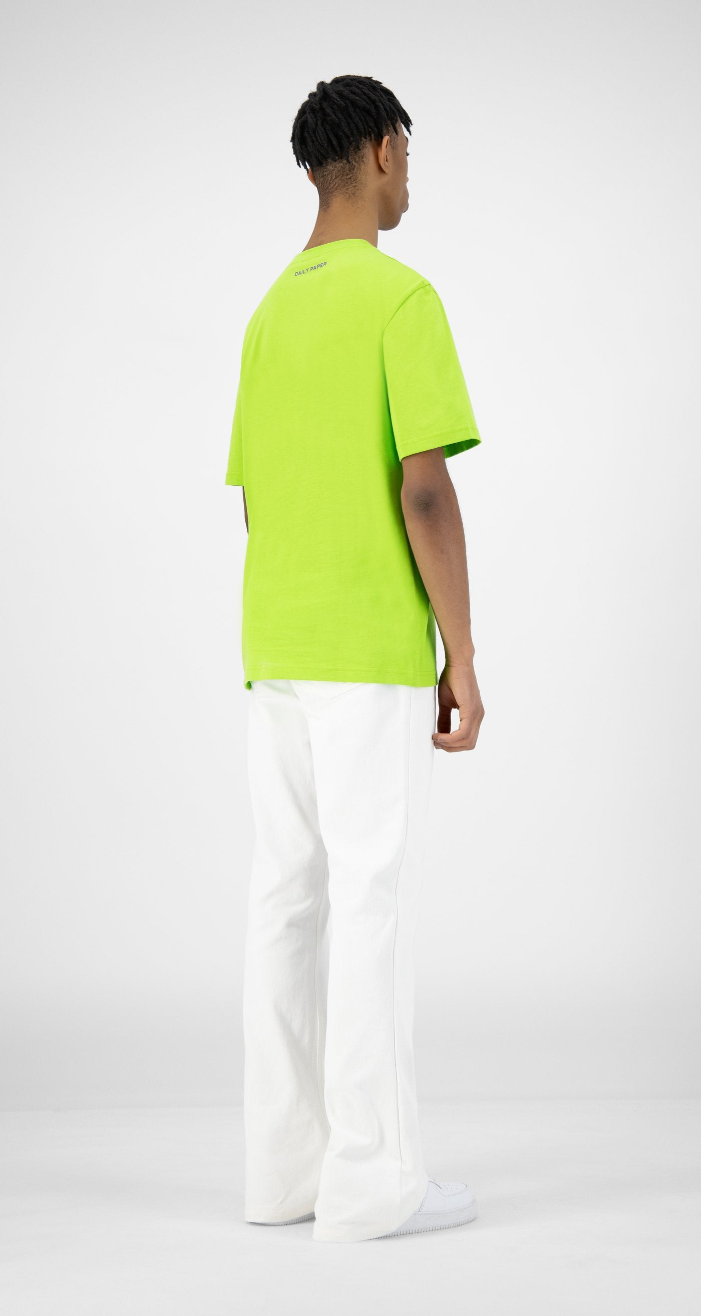 Daily Paper - Green Korjas T-Shirt - Men Rear