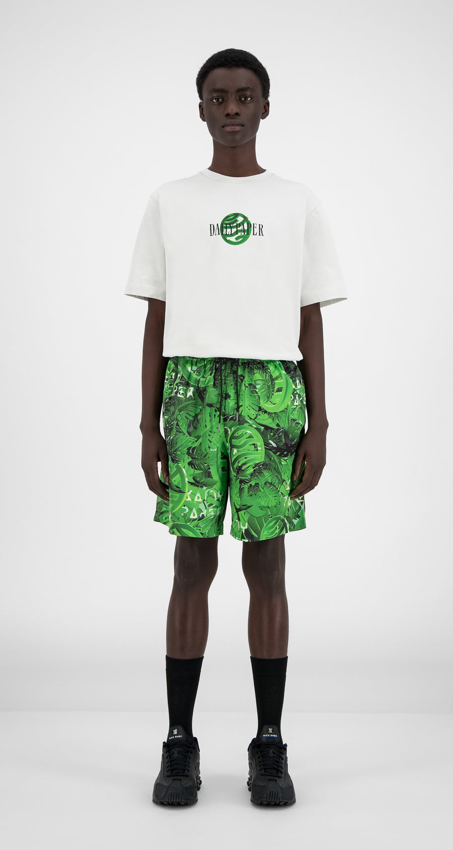 Daily Paper - Jungle Hali Swim Shorts - Men Front