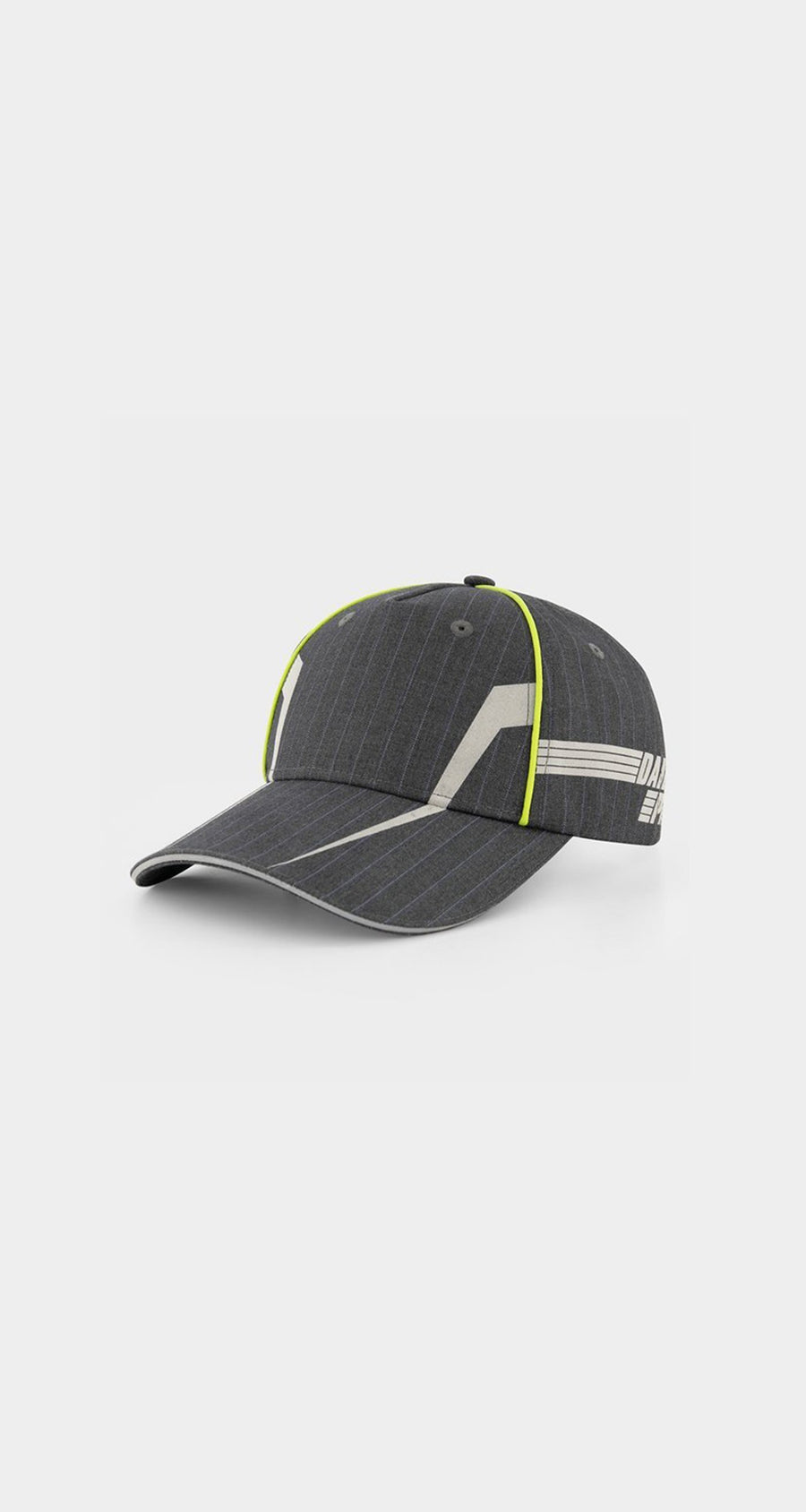 Daily Paper - Grey Pinstripe Jus Cap - Front