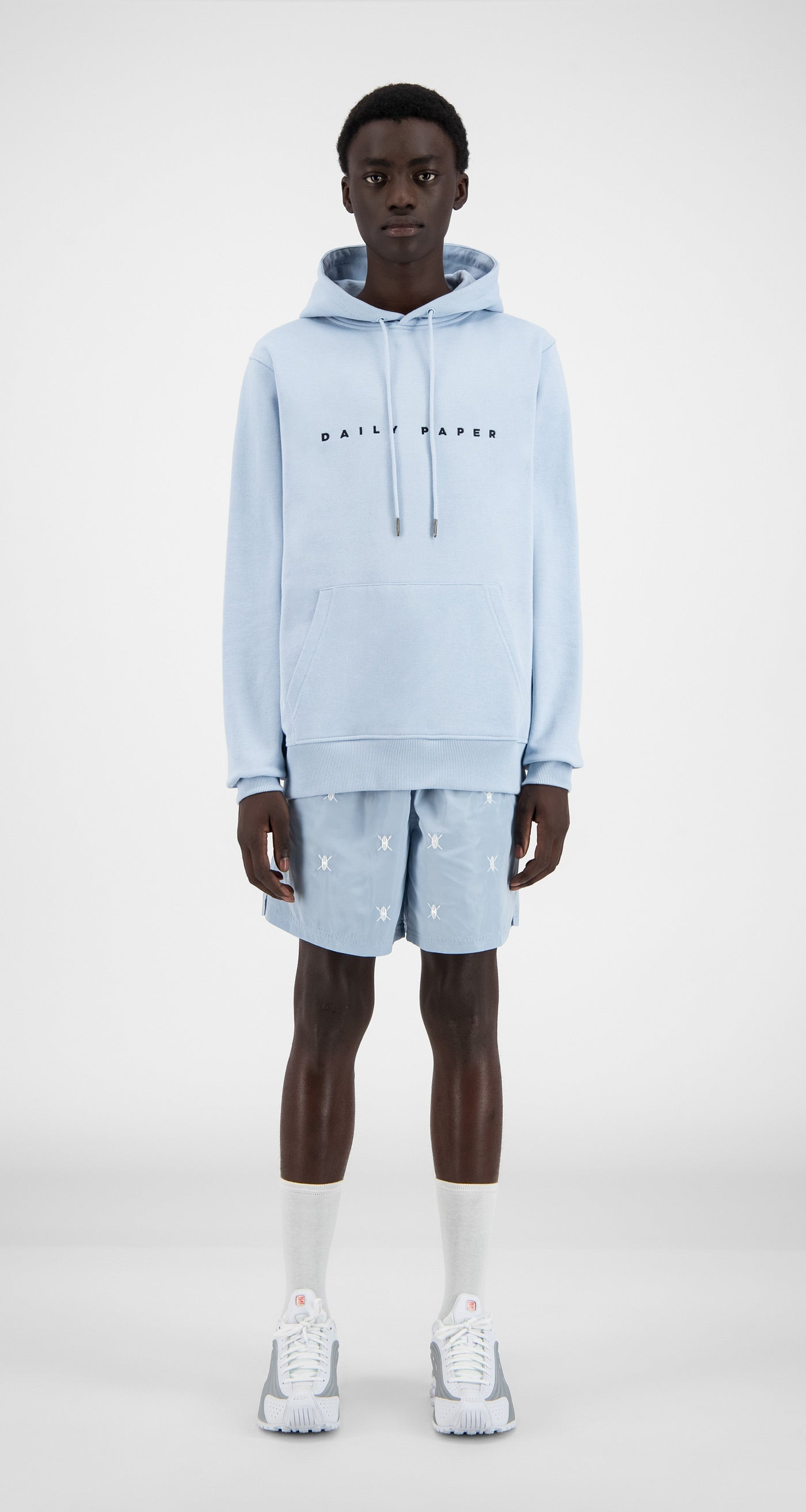 Daily Paper - Kentucky Blue Alias Hoody - Men Front
