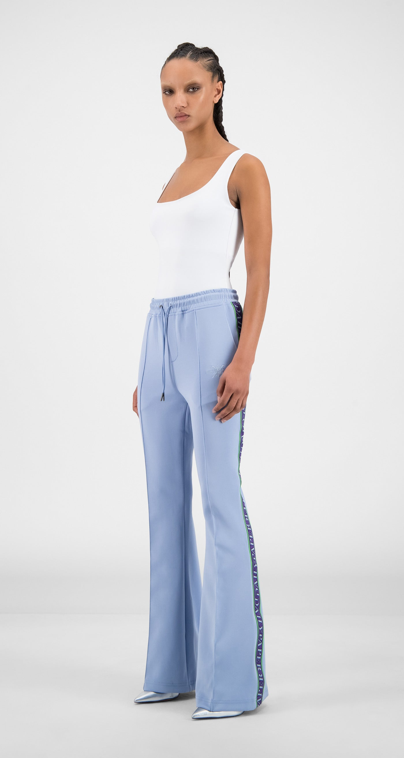 Daily Paper - Kentucky Blue Flair Tape Pants - Women