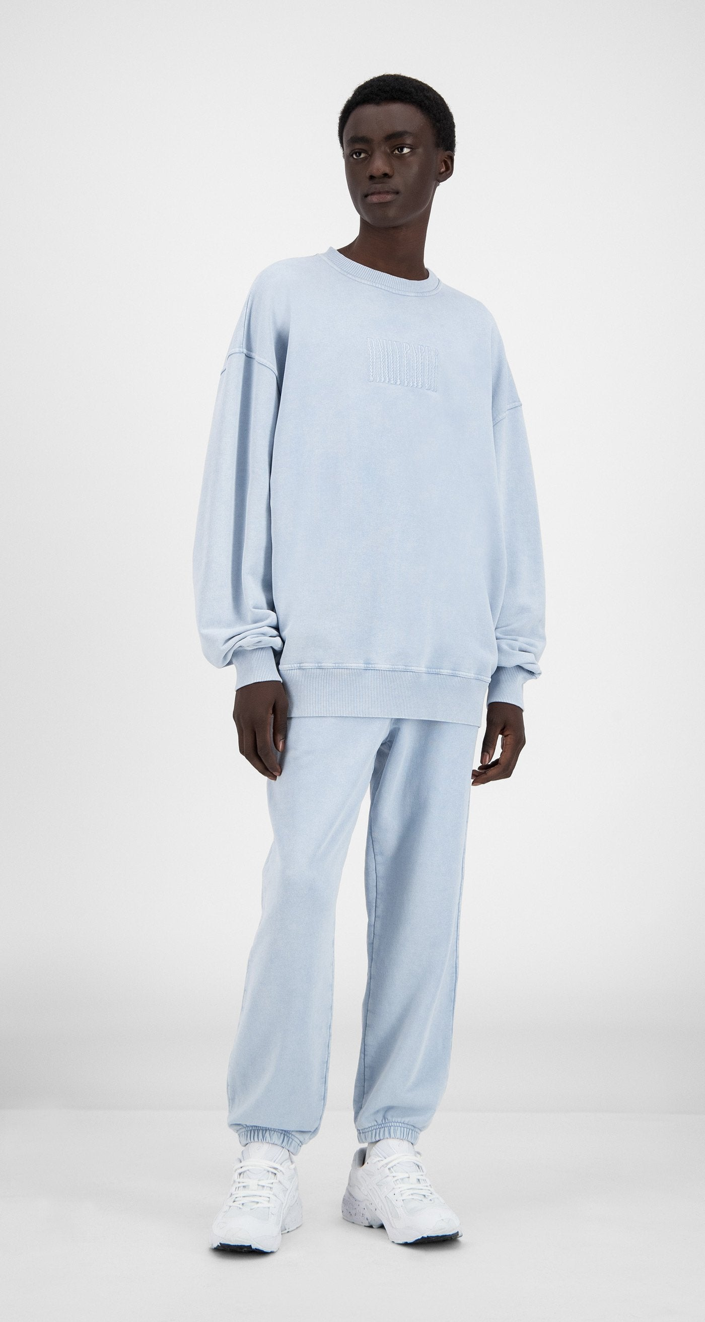 Daily Paper - Washed Kentucky Blue Heracid Sweater - Men