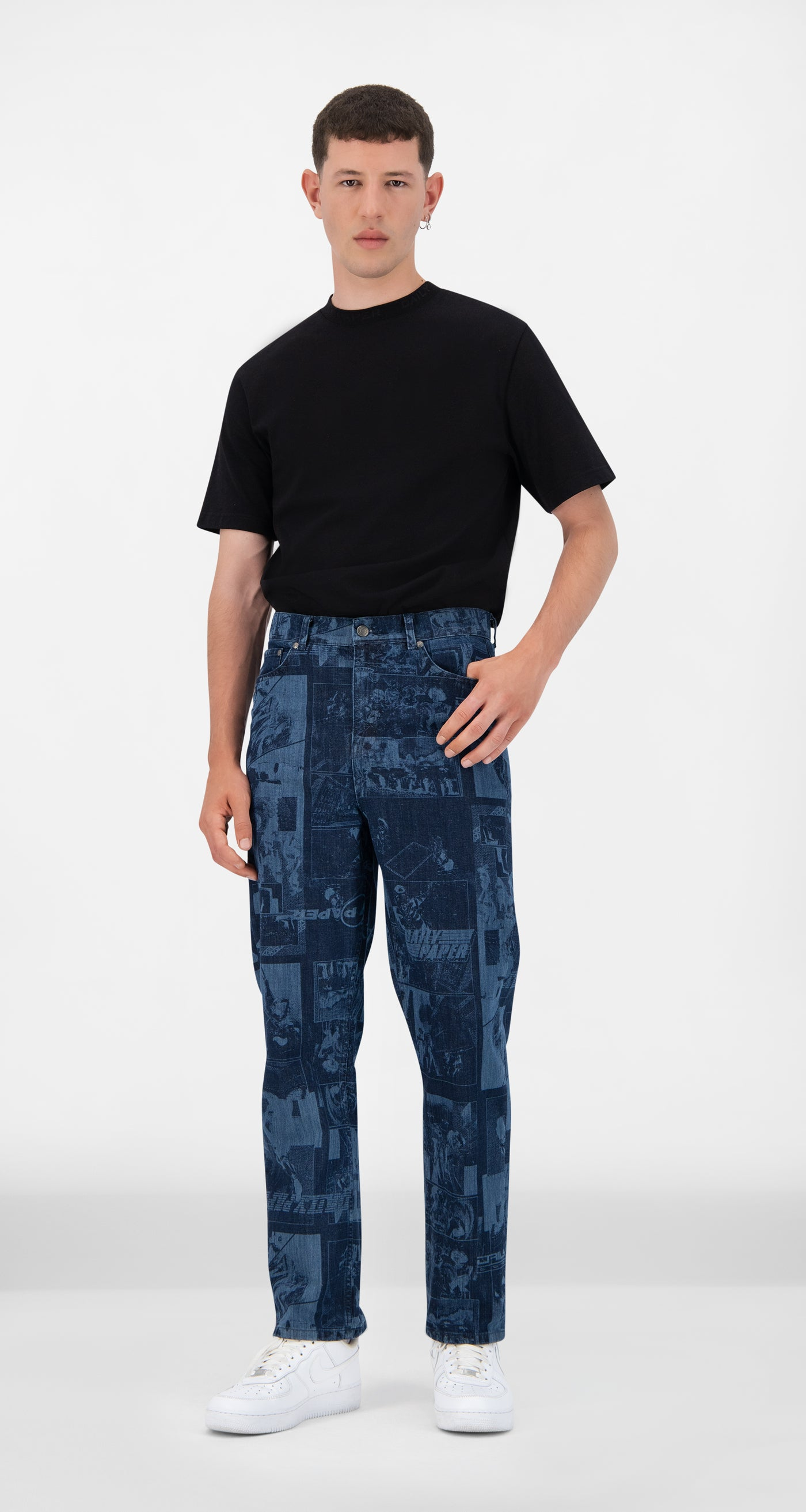 Daily Paper - Lazered Denim Jarzeb Pants - Men