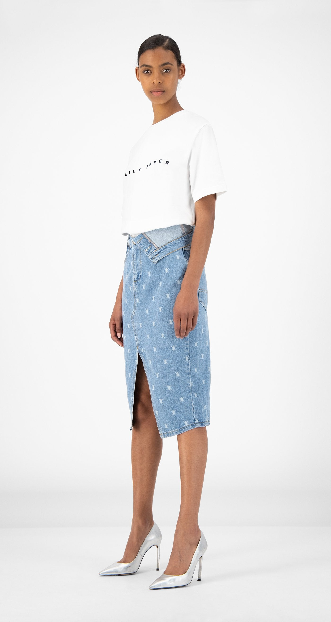 Daily Paper - Blue Denim Rehowi Skirt - Women