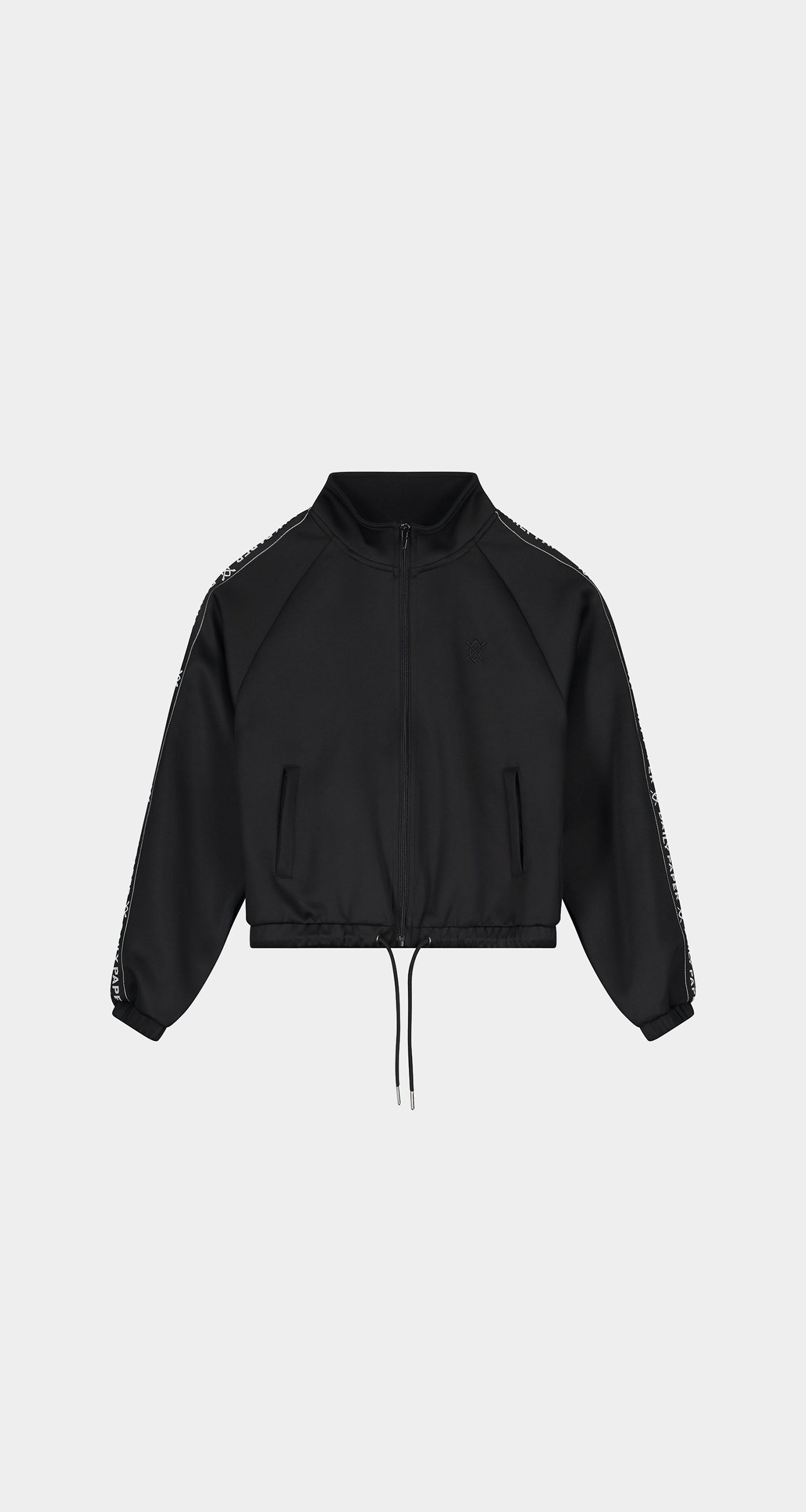 Daily Paper - Black Etape Track Jacket - Women Front
