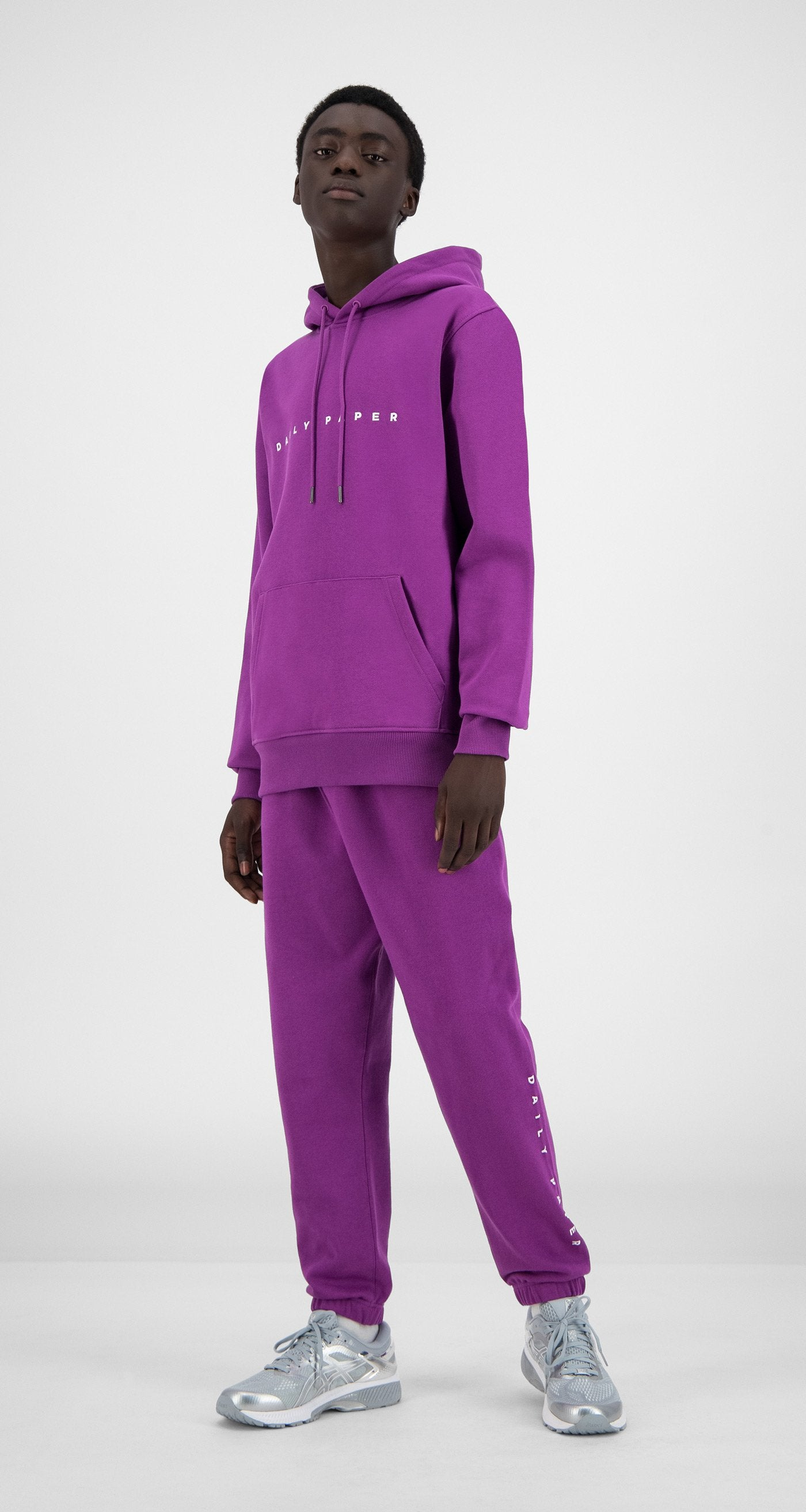 Daily Paper - Magenta Purple Alias Hoody - Men