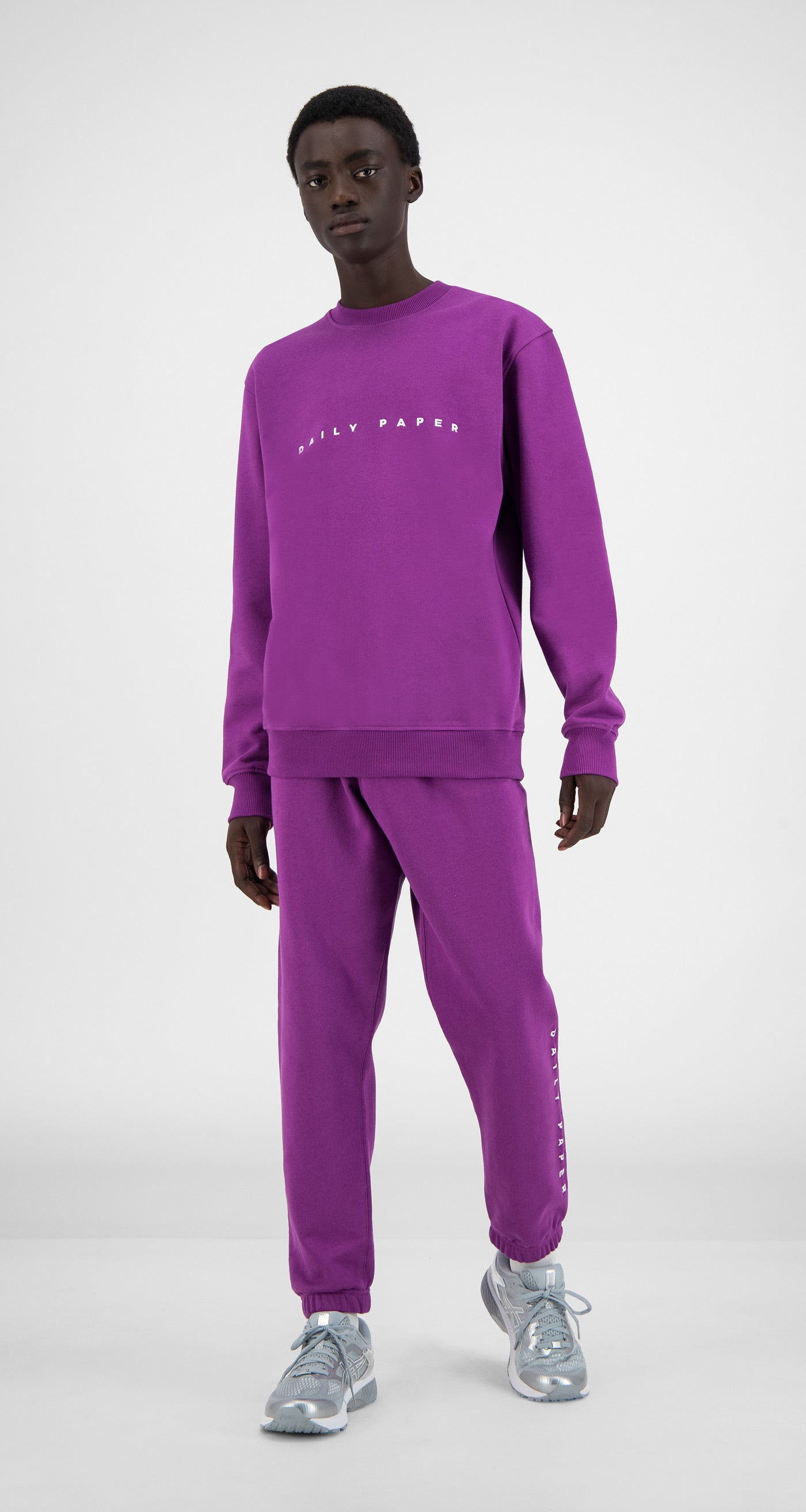 Daily Paper - Magenta Purple Alias Sweater - Men