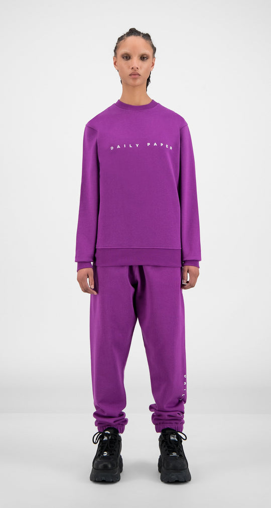 Daily Paper - Magenta Purple Alias Sweater - Women Front