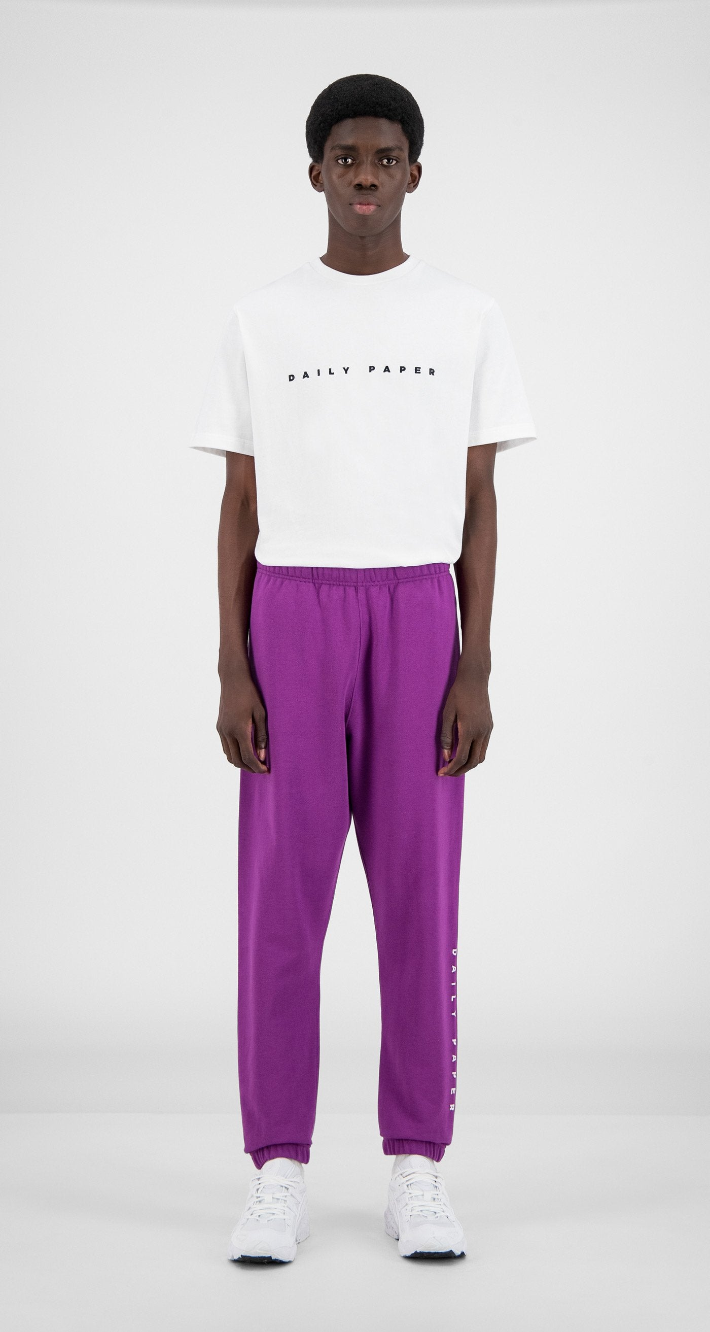 Daily Paper - Magenta Purple Alias Sweatpants - Men