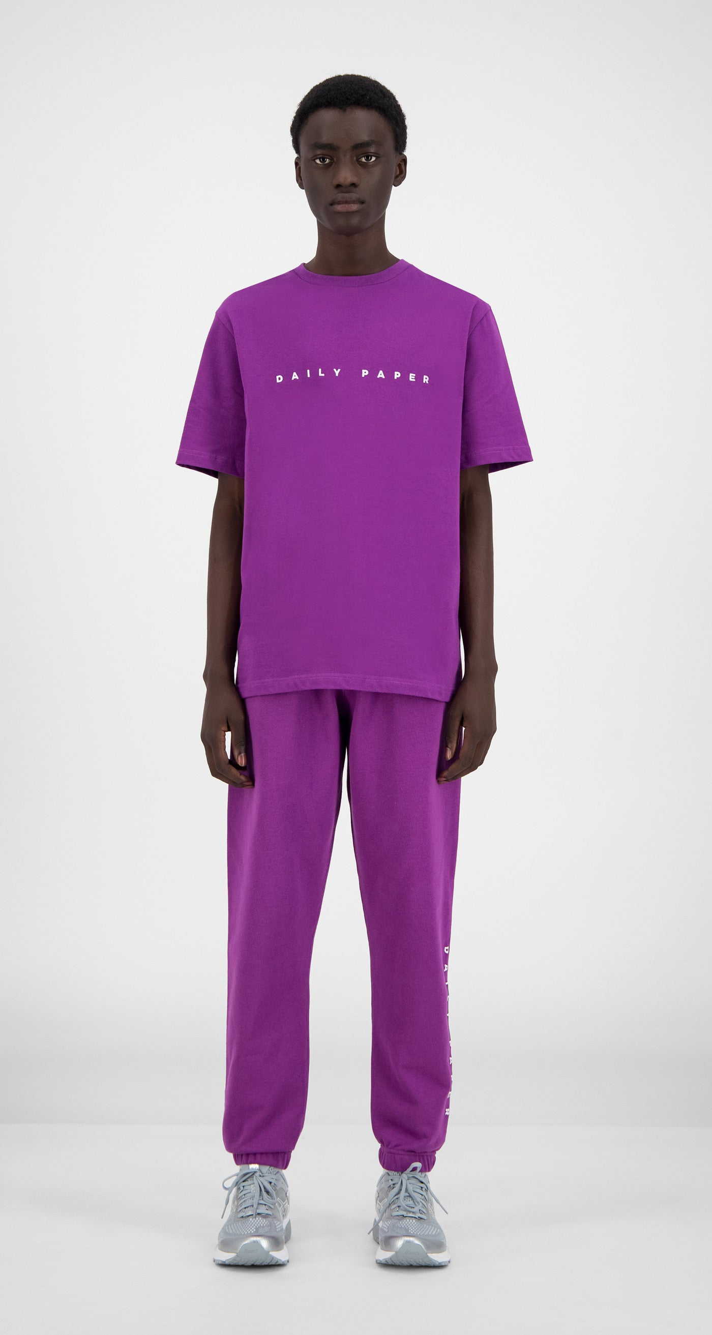Daily Paper - Magenta Purple Alias T-Shirt - Men Front