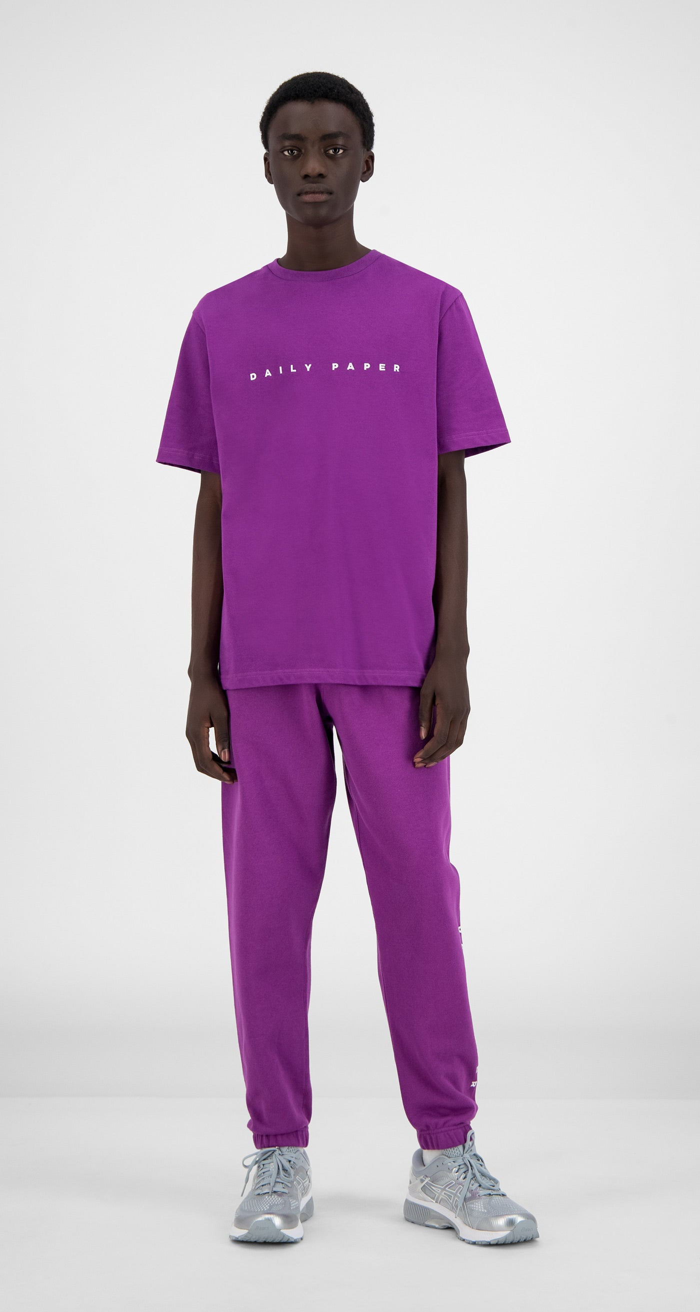 Daily Paper - Magenta Purple Alias T-Shirt - Men