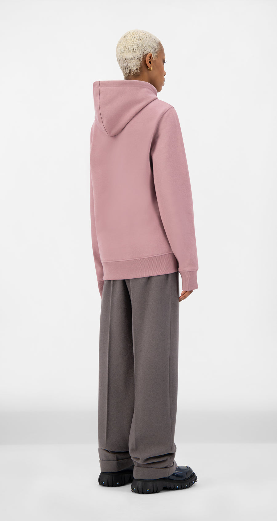 Daily Paper - Mauve Pink Alias Hoody - Women Rear