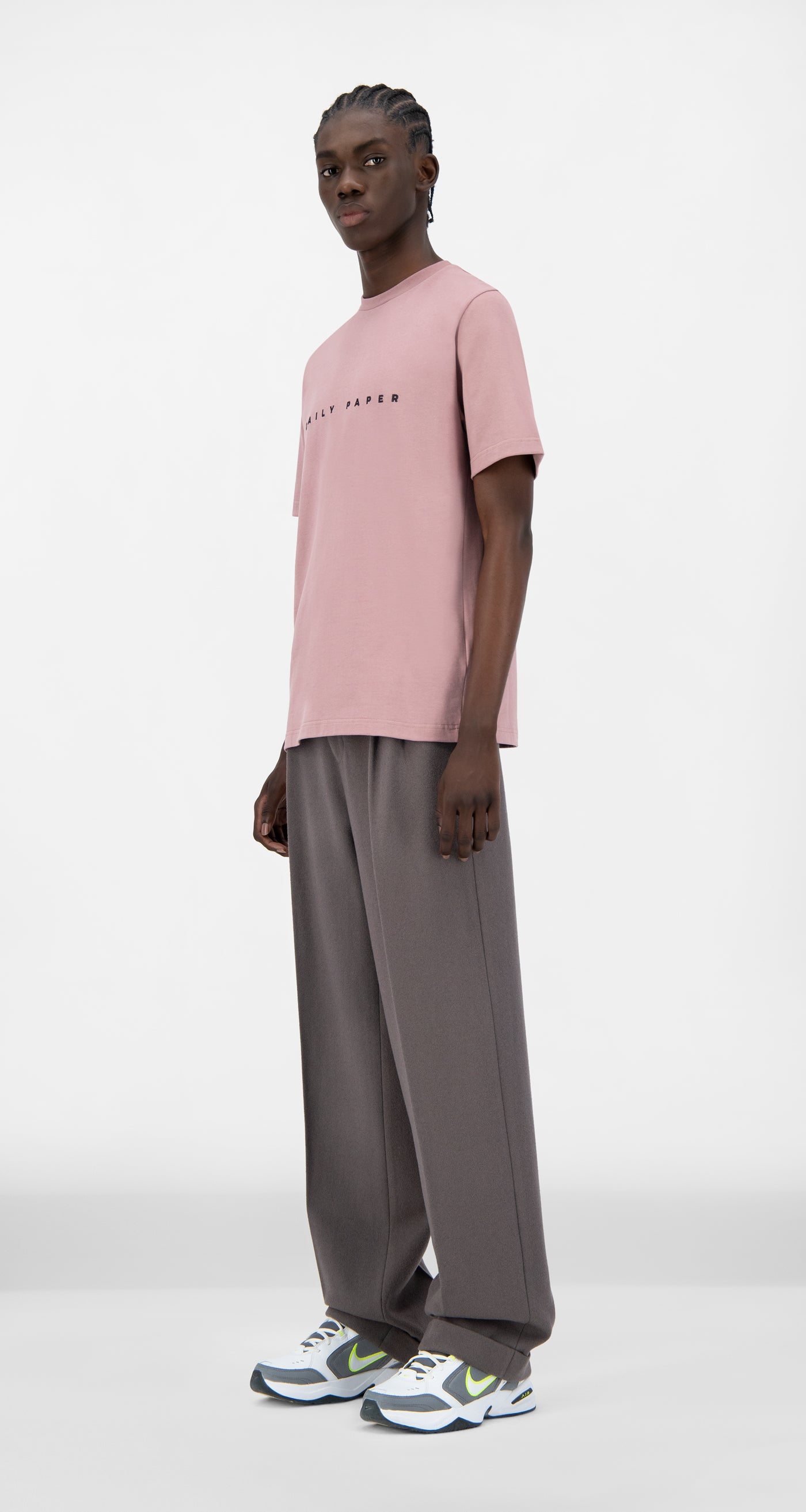 Daily Paper - Mauve Pink Alias T-Shirt - Men