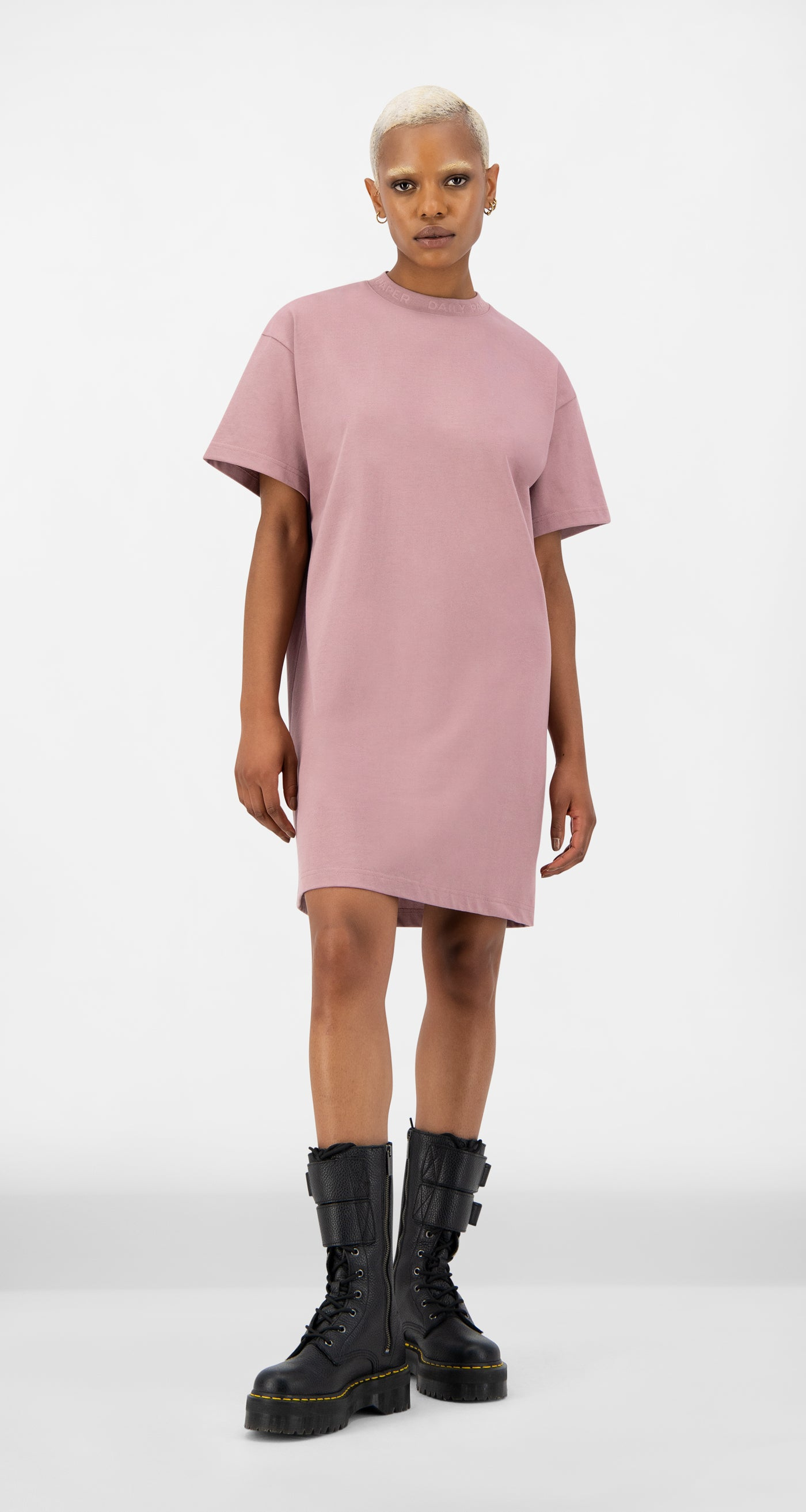 Daily Paper - Mauve Pink Derib Dress - Women