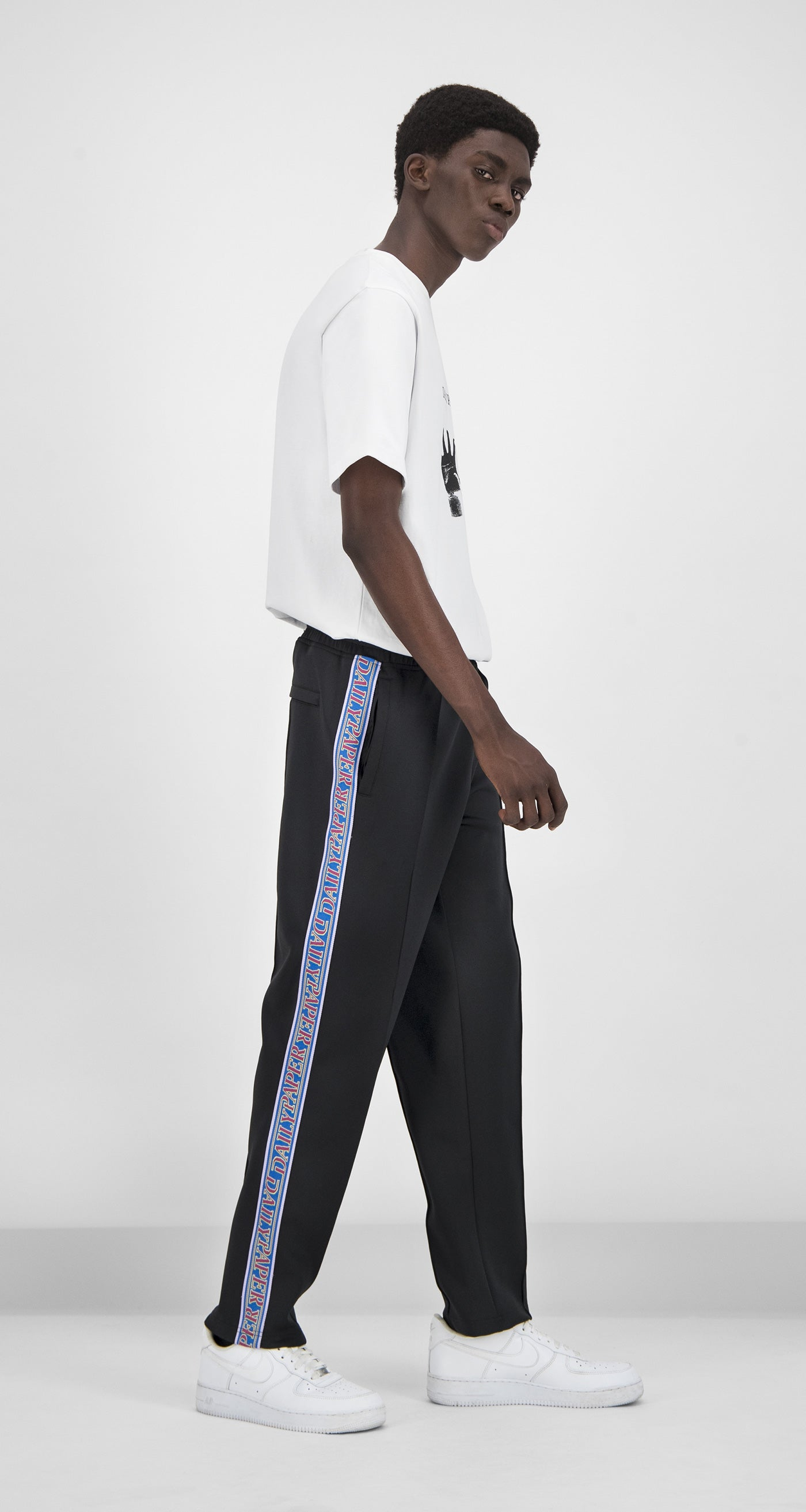 Daily Paper - Midnight Black Liba Track Pants Men