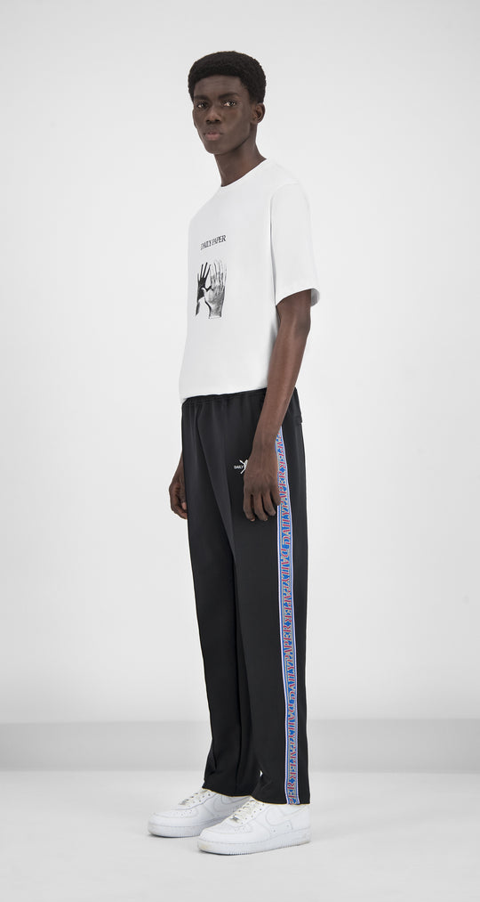 Daily Paper - Midnight Black Liba Track Pants Men Front