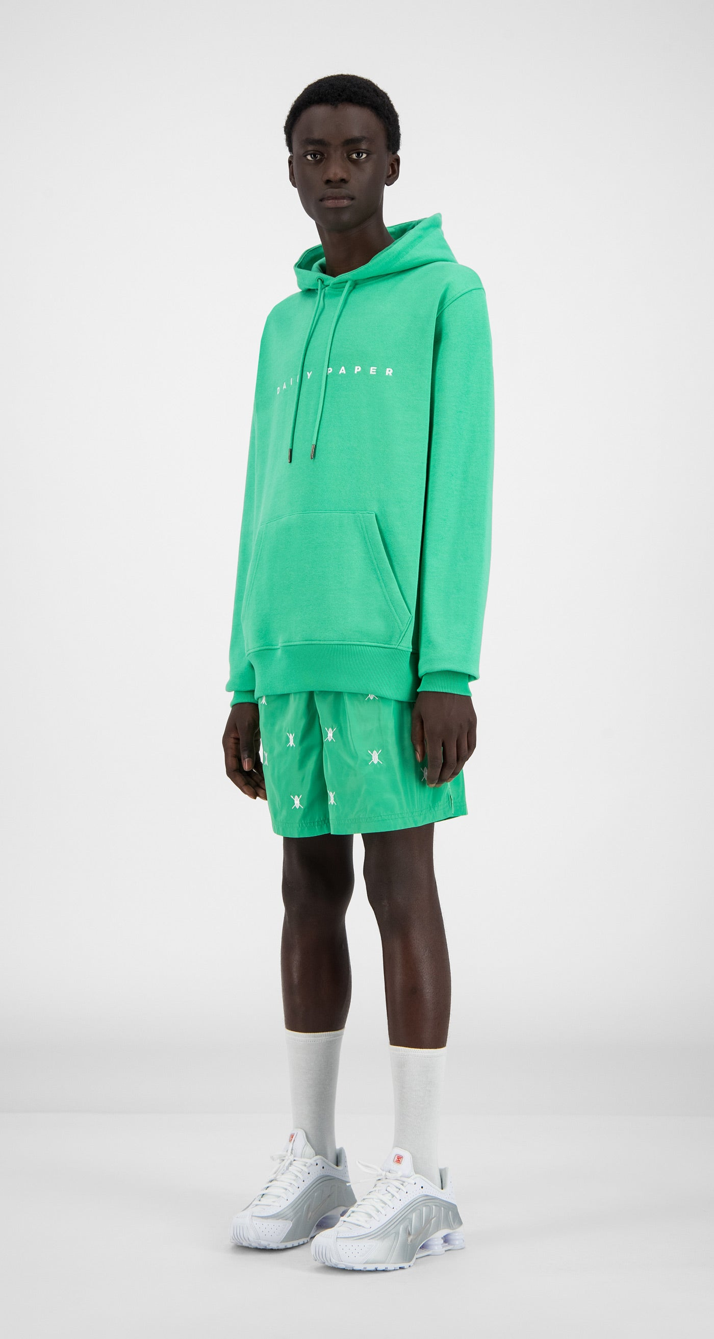 Daily Paper - Ming Green Alias Hoody - Men