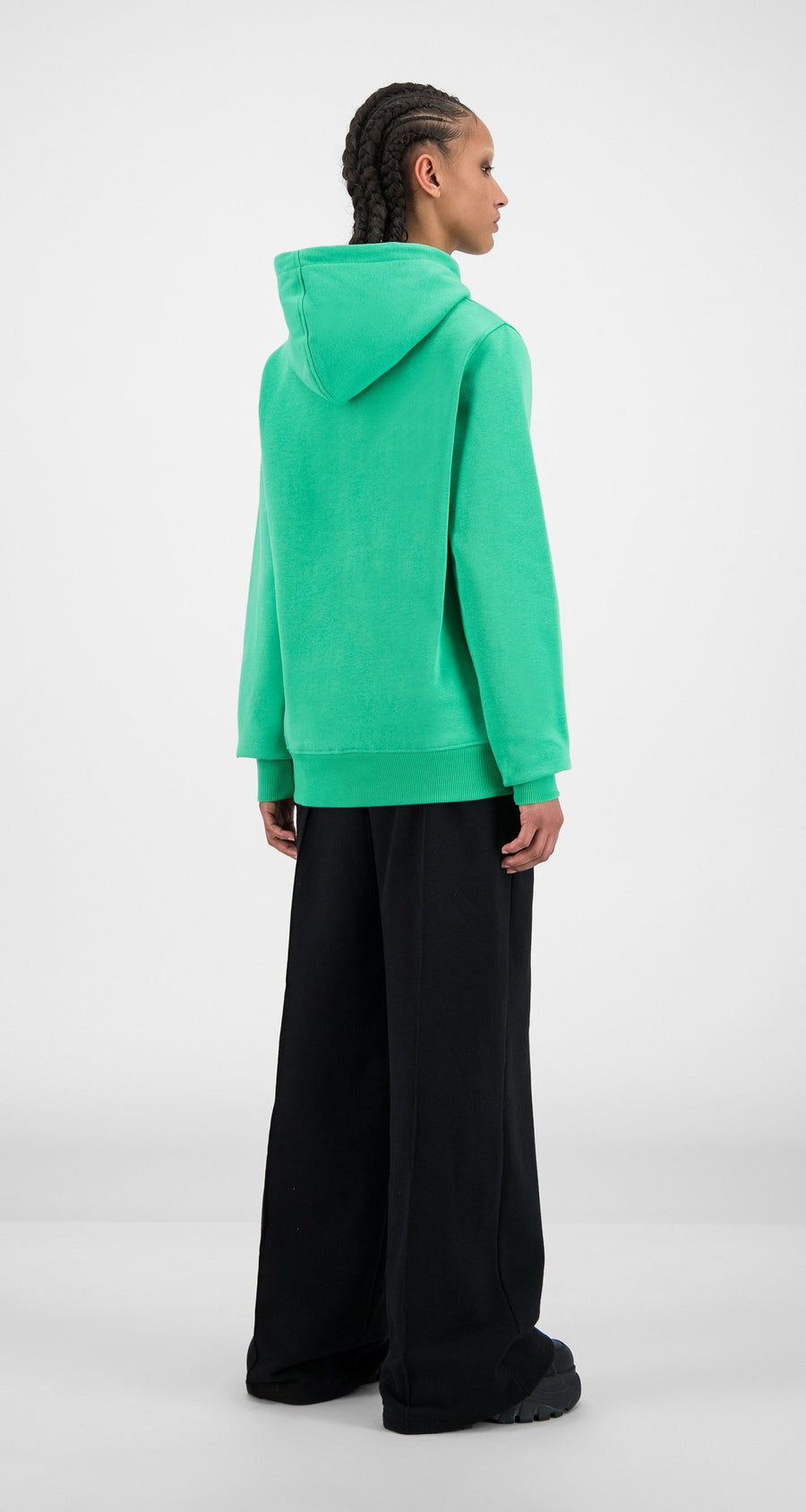 Daily Paper - Ming Green Alias Hoody - Women Rear
