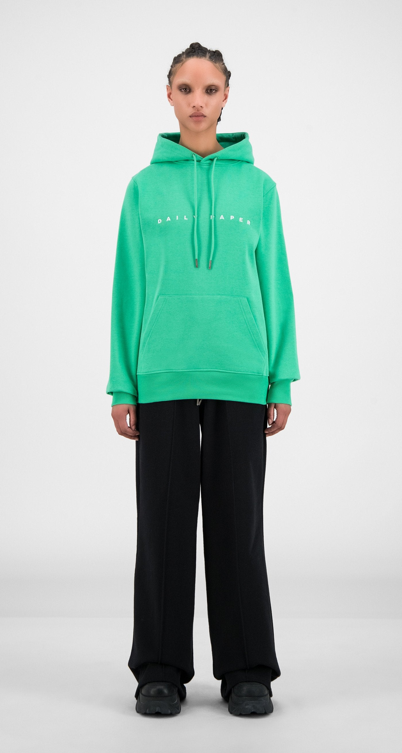 Daily Paper - Ming Green Alias Hoody - Women Front