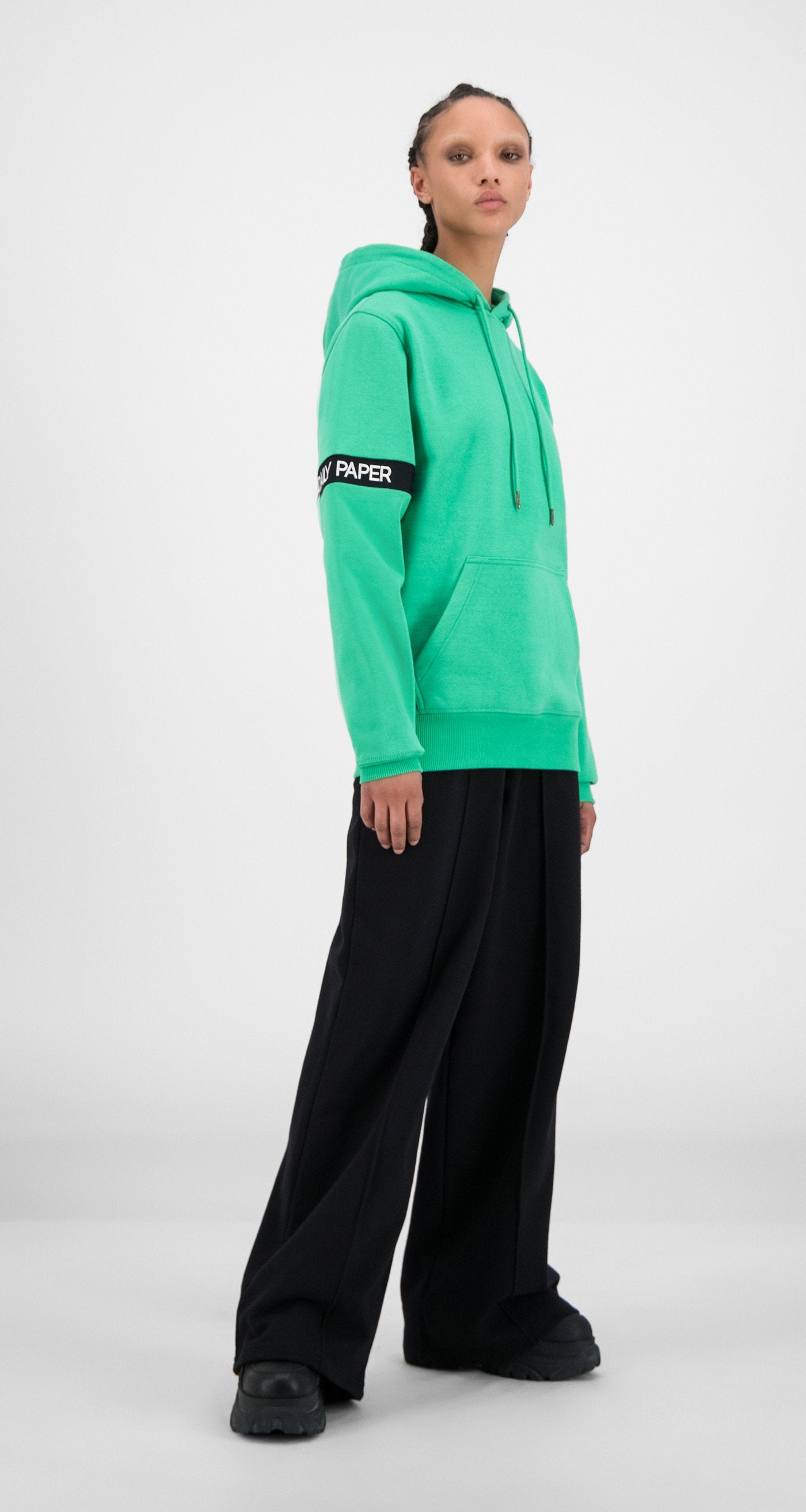 Daily Paper - Ming Green Captain Hoody - Women