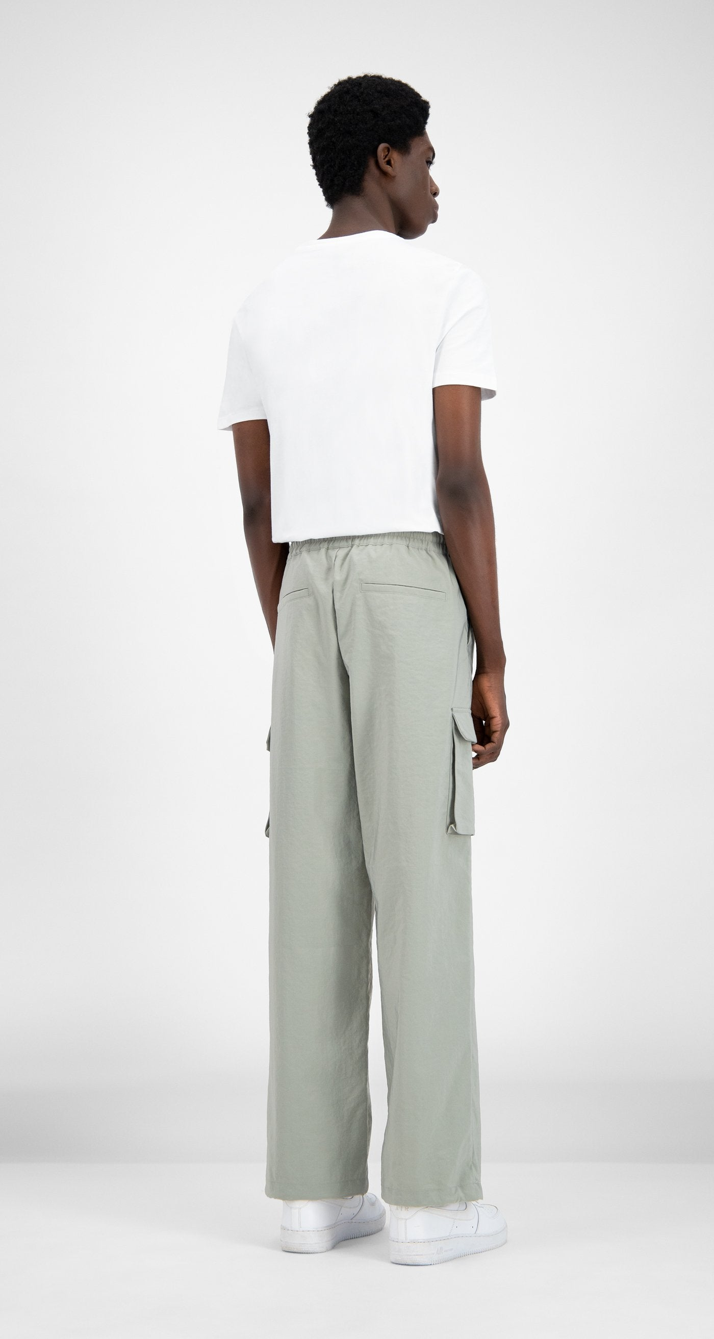 Daily Paper - Mint Green Recargo Trackpants - Men Rear