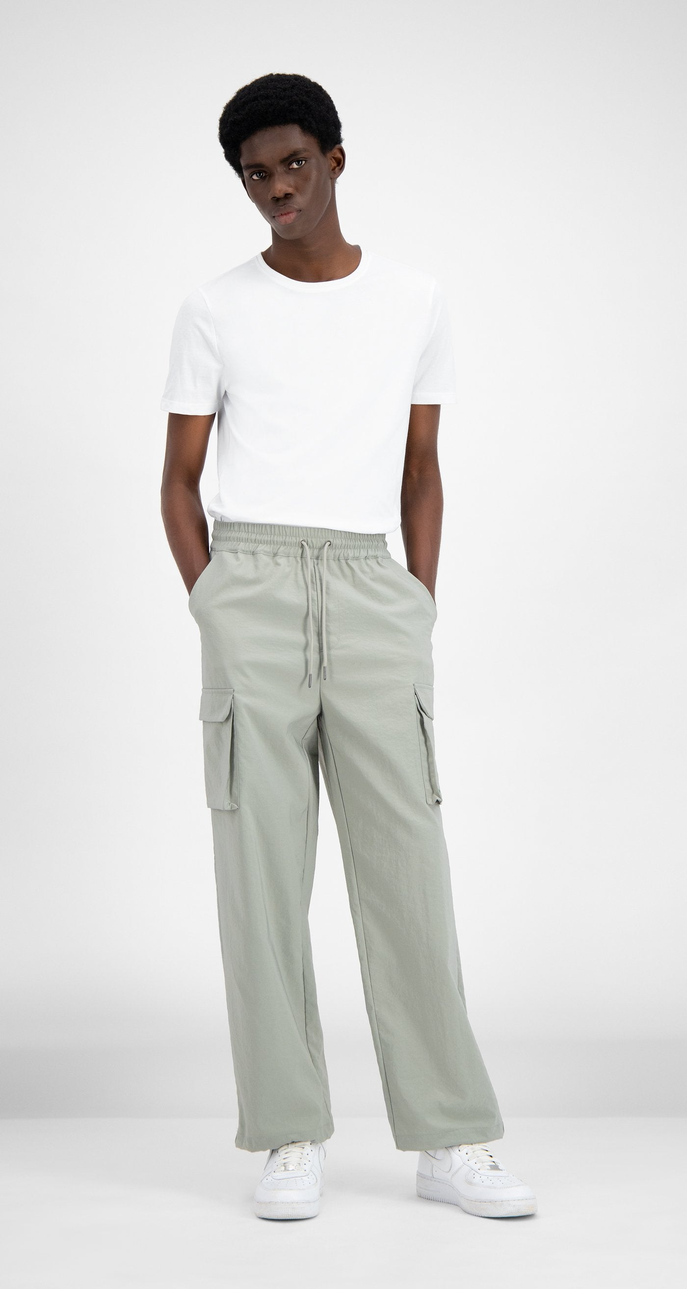 Daily Paper - Mint Green Recargo Trackpants - Men