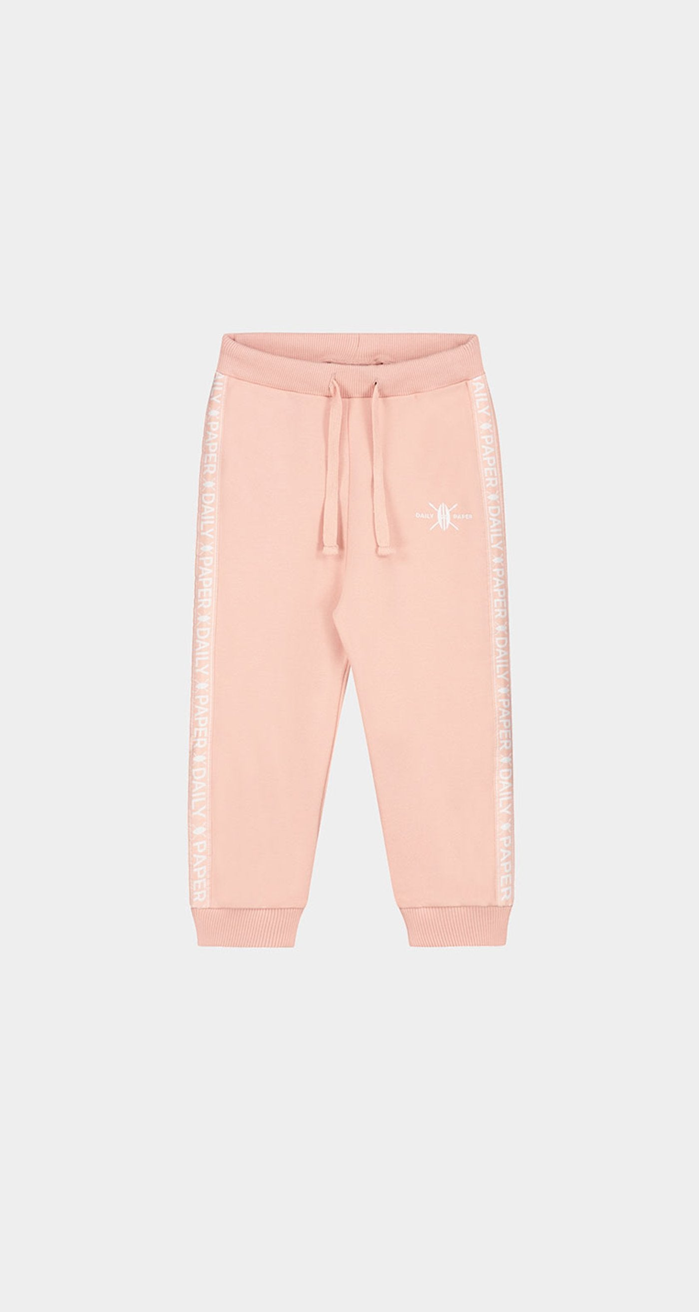 Daily Paper - Misty Rose Kids Tape Logo Track Pants Front