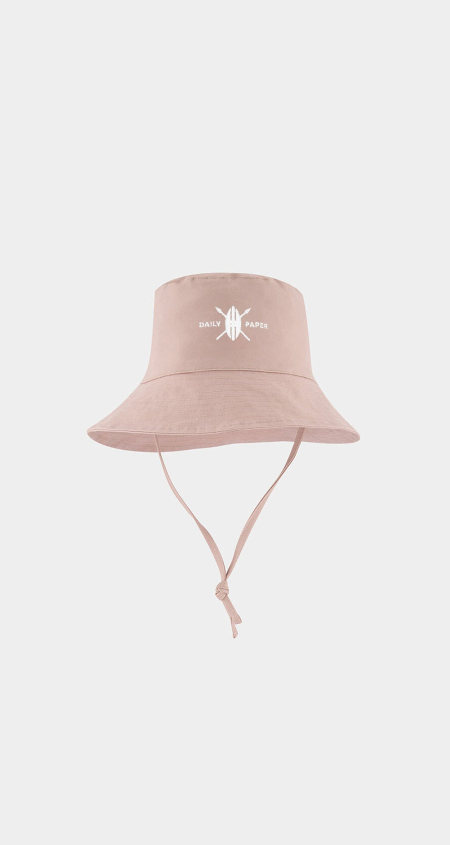 Daily Paper - Misty Rose Baby Logo Bucket Hat Front