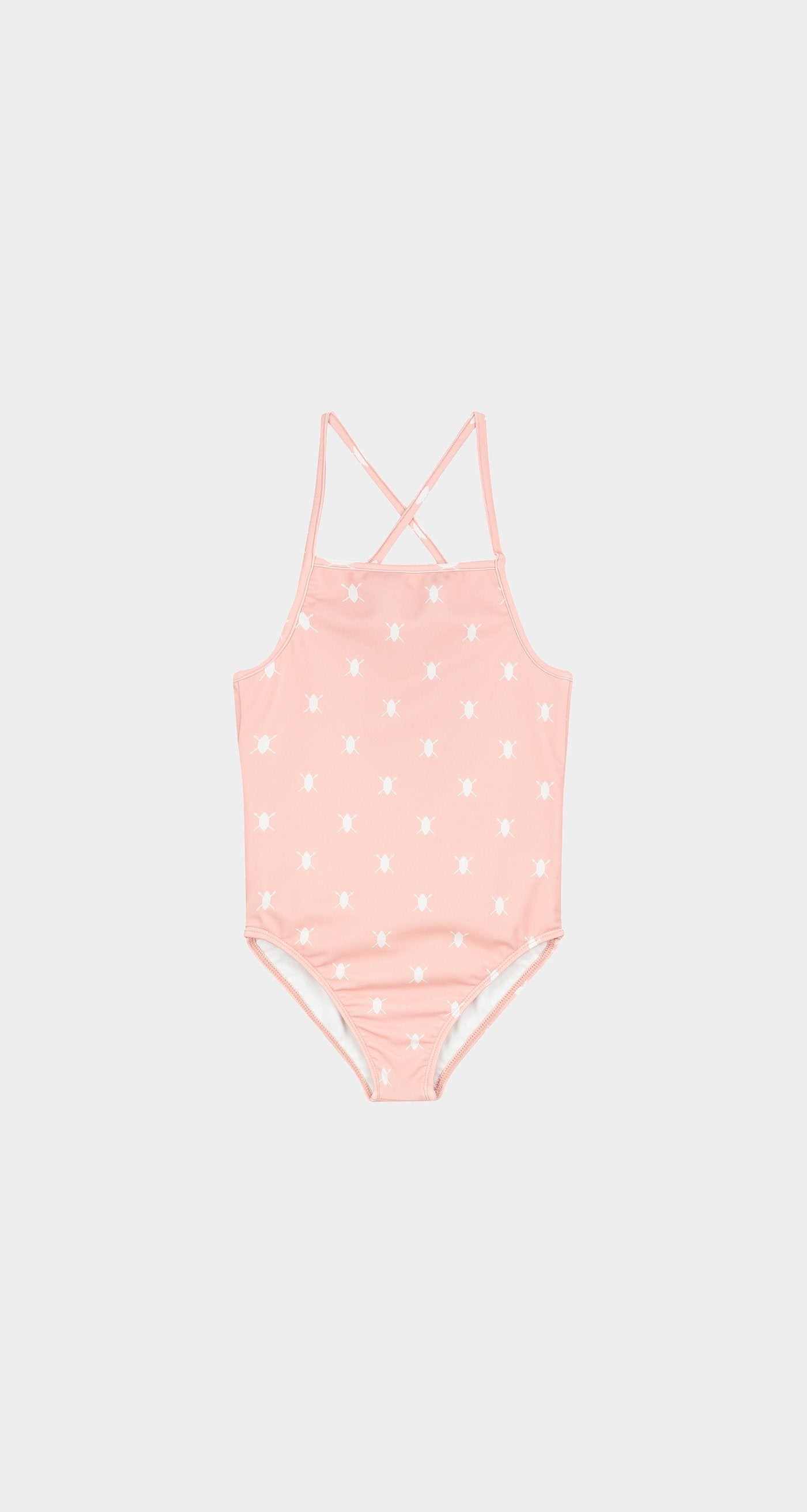 Daily Paper - Misty Rose Kids Shield Swimsuit Front