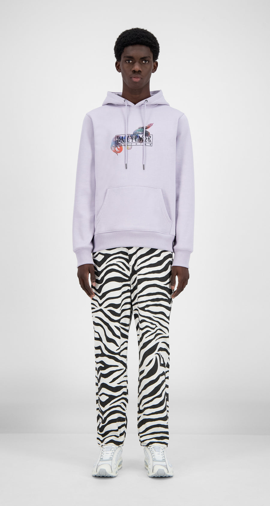 Daily Paper - Misty Lilac Hami Hoody - Men Front